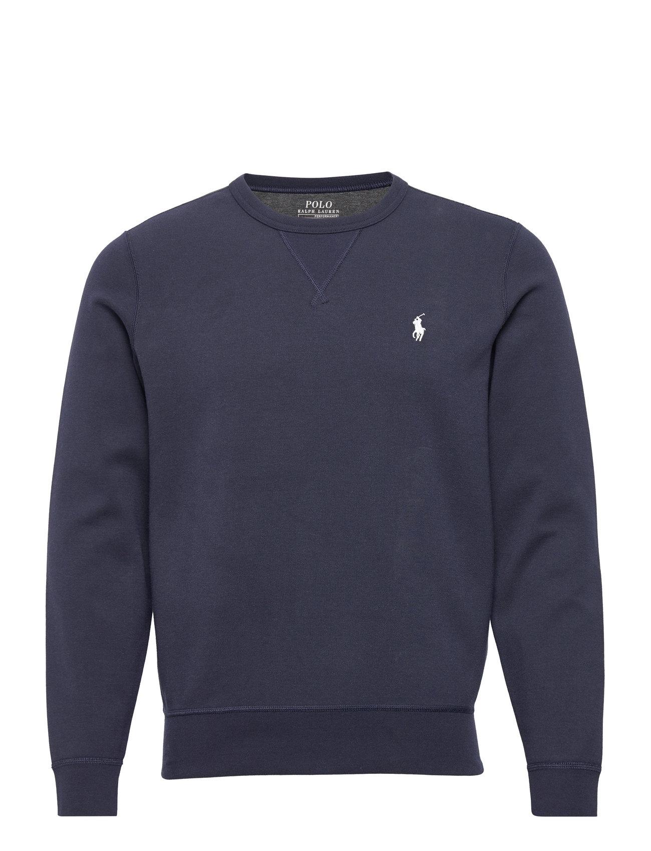Polo Ralph Lauren Double-Knit Sweatshirt - AVIATOR NAVY