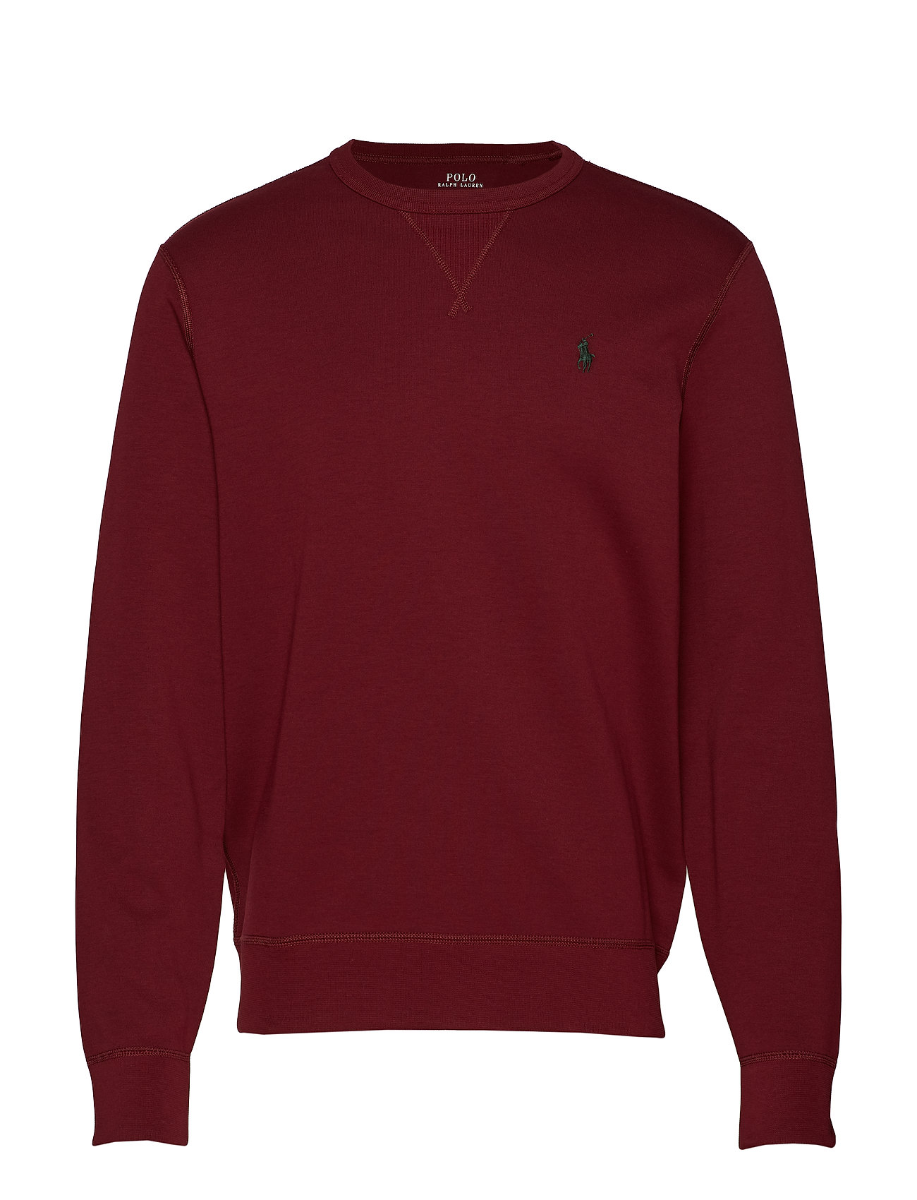 Polo Ralph Lauren Double-Knit Sweatshirt - CLASSIC WINE