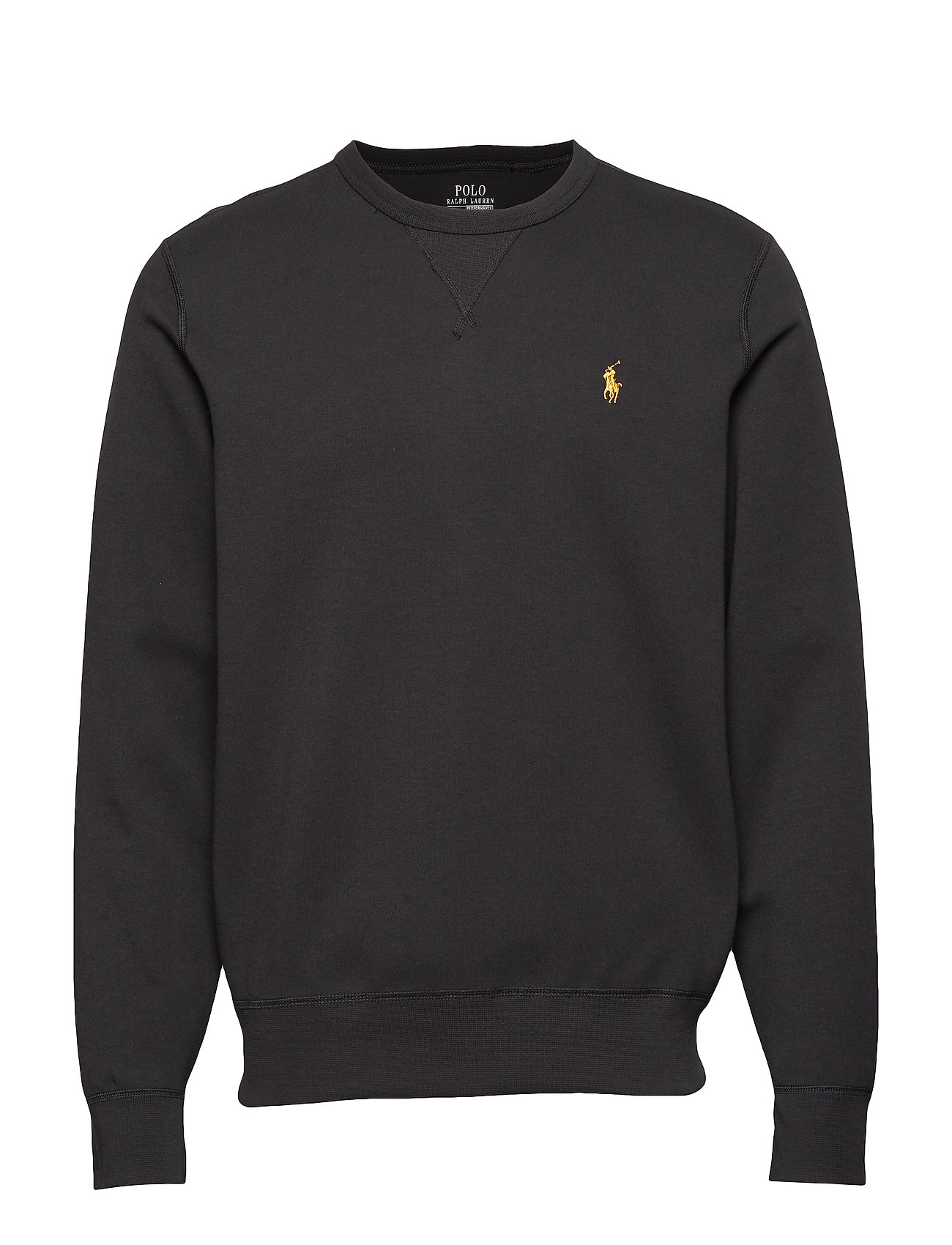 Double PPolo Black Ralph Lauren knit gold Sweatshirtpolo hdxtsQrC