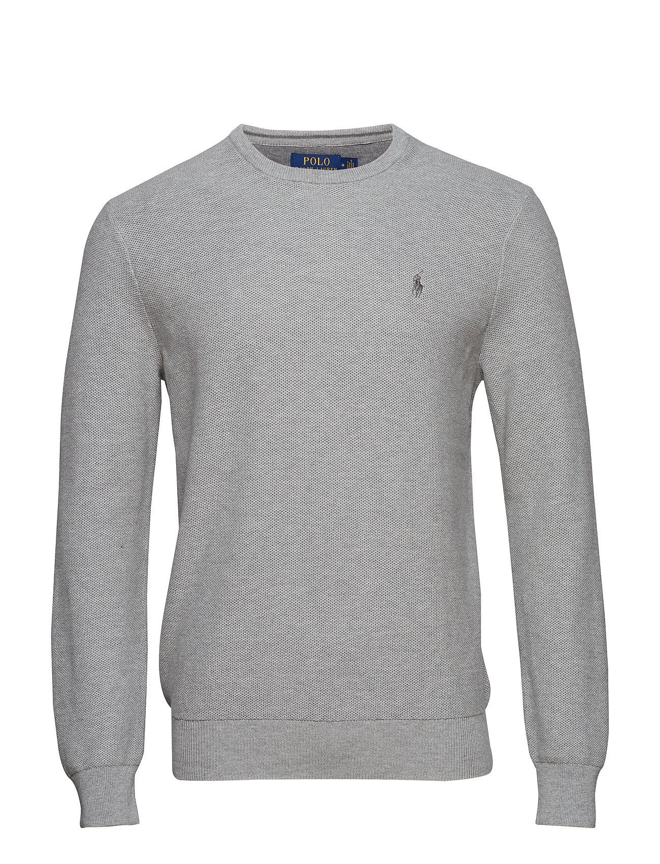 8445012b09a Cotton Crewneck Sweater (Andover Heather) (£87.50) - Polo Ralph ...