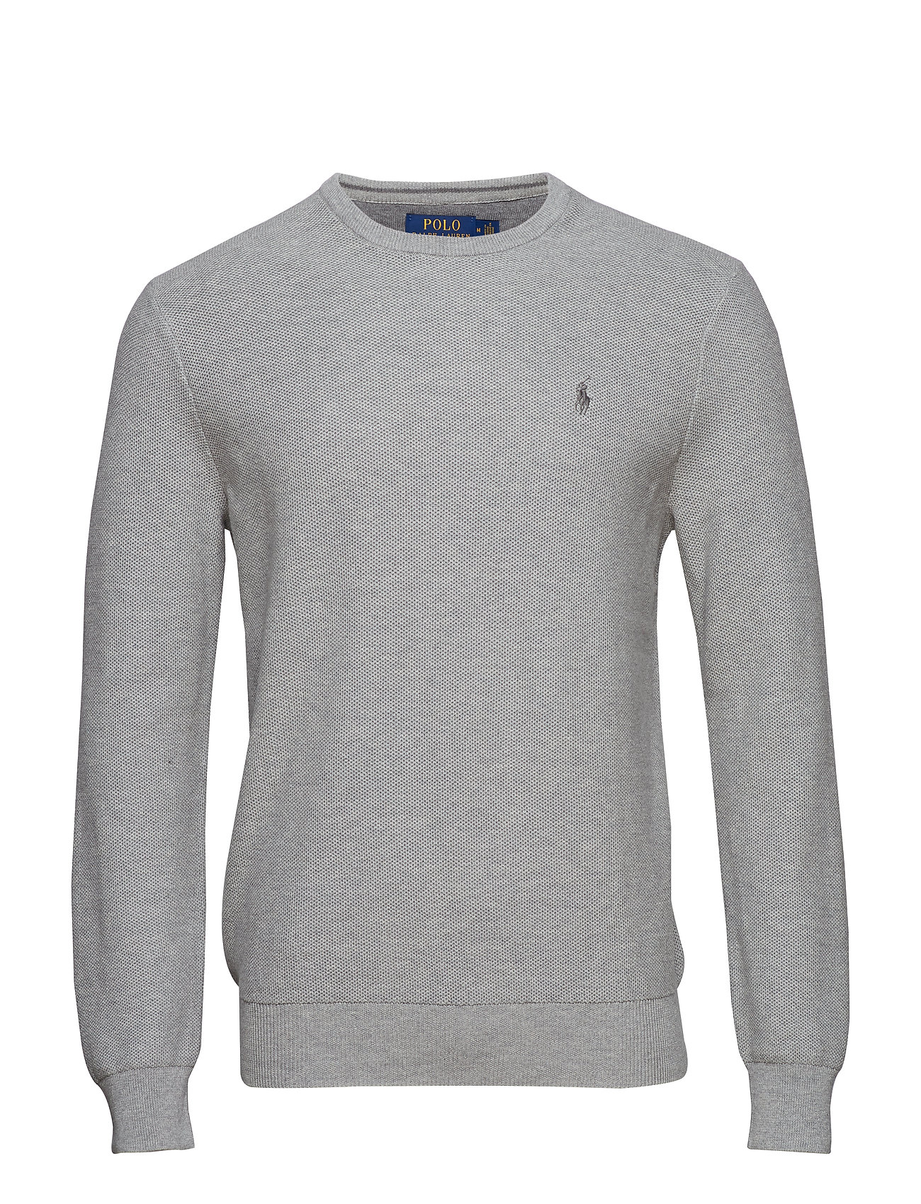 Polo Ralph Lauren Cotton Crewneck Sweater - ANDOVER HEATHER