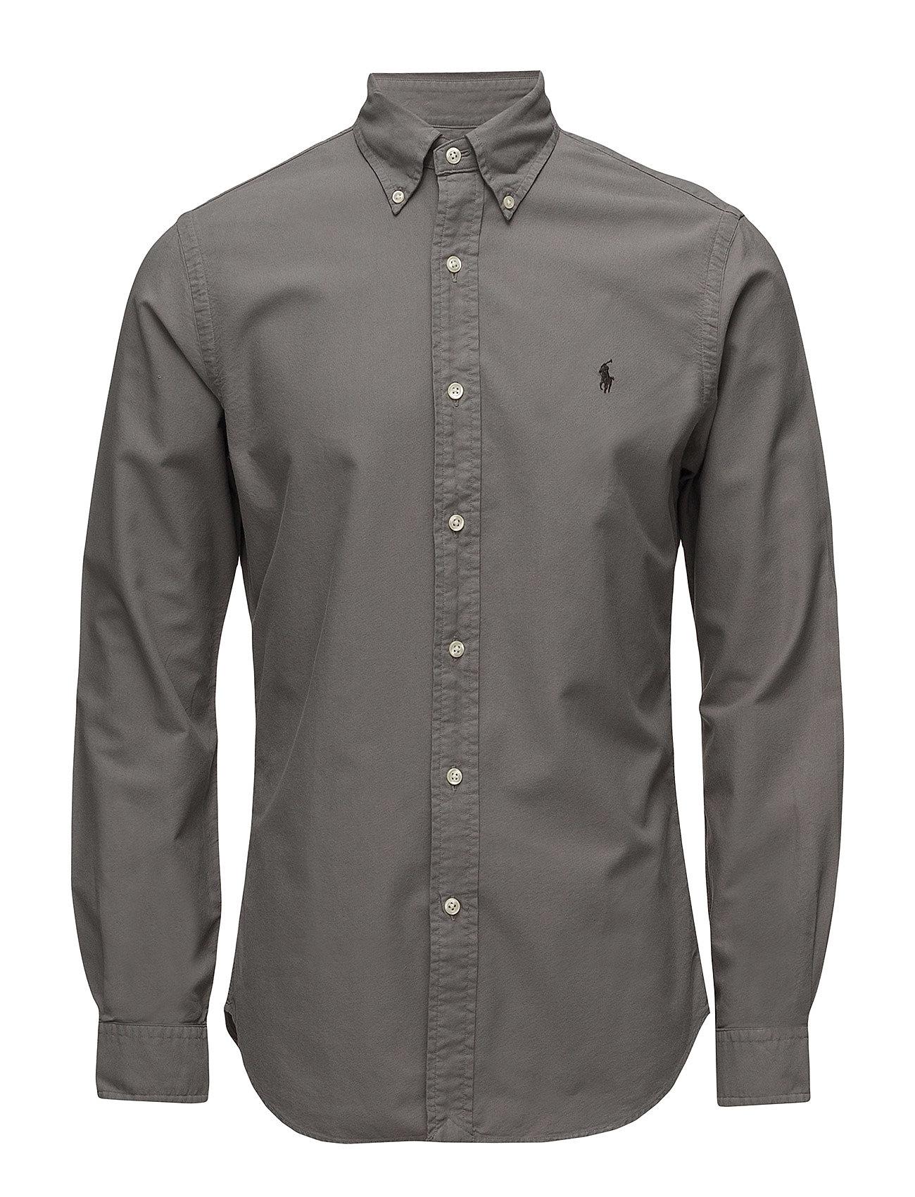 Slim Fit Cotton Oxford Shirt (Perfect Grey) (109.95 €) - Polo Ralph ... 8c034a1f39