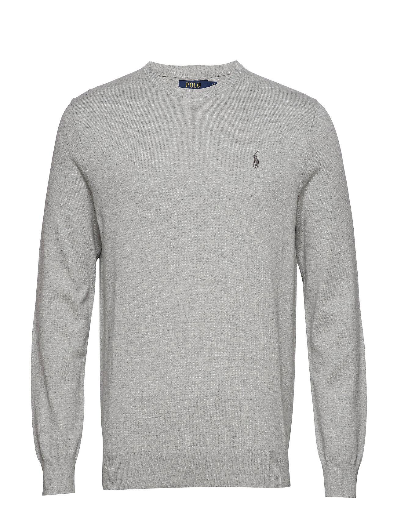 Polo Ralph Lauren Slim Fit Cotton Sweater - ANDOVER HEATHER