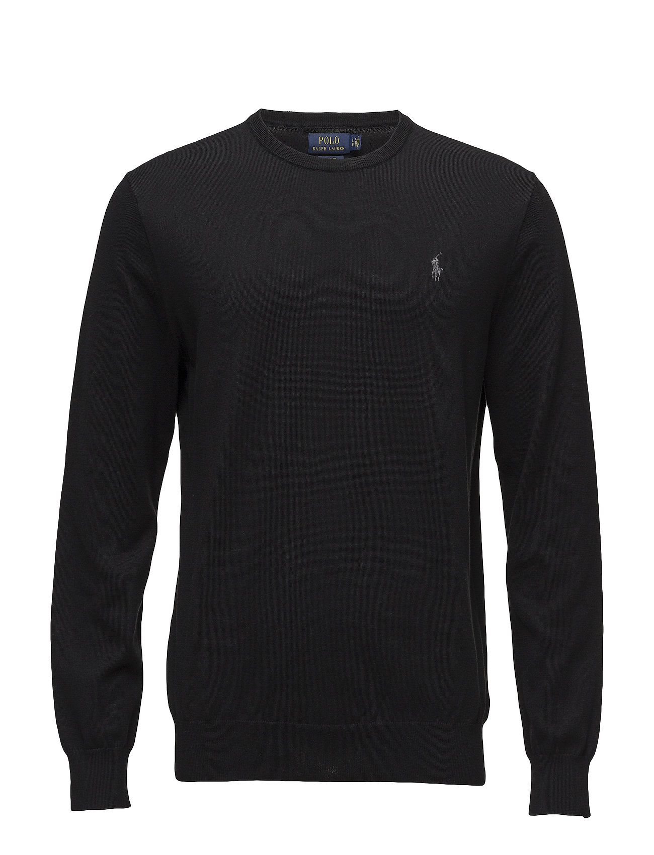 Polo Ralph Lauren Slim Fit Cotton Sweater - POLO BLACK