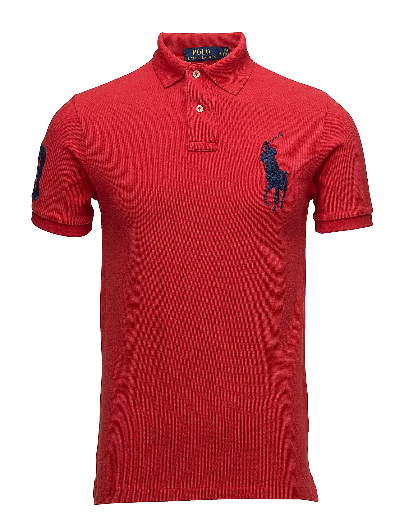 Polo Ralph Lauren Slim-Fit Mesh Polo Shirt - RL 2000 RED