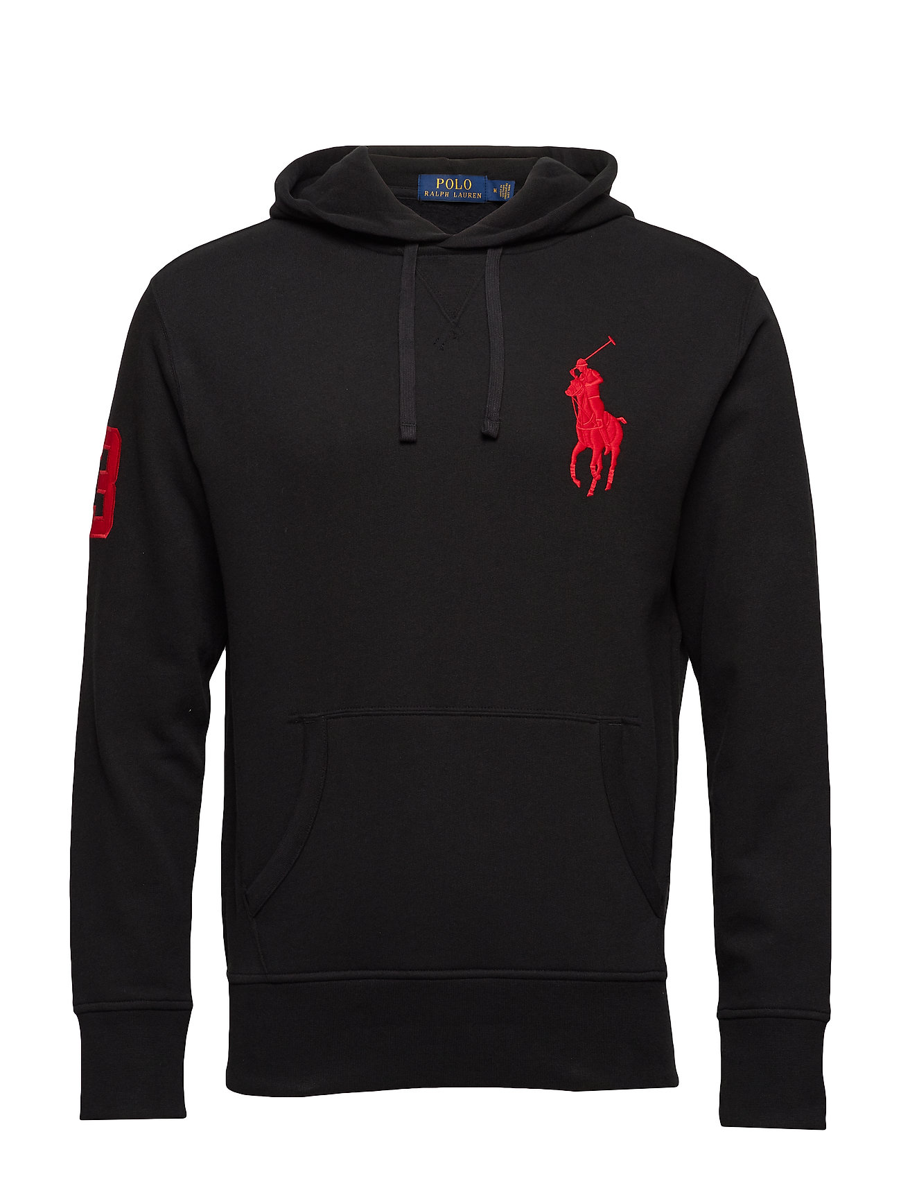Polo Ralph Lauren LSPOHOODM1-LONG SLEEVE-KNIT - POLO BLACK