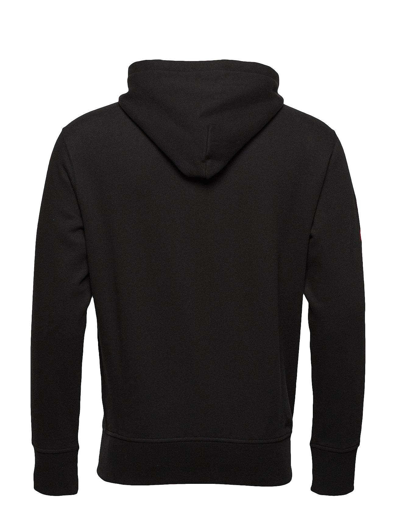 long Lspohoodm1 knitpolo Ralph Lauren Sleeve BlackPolo lJFc3TK1
