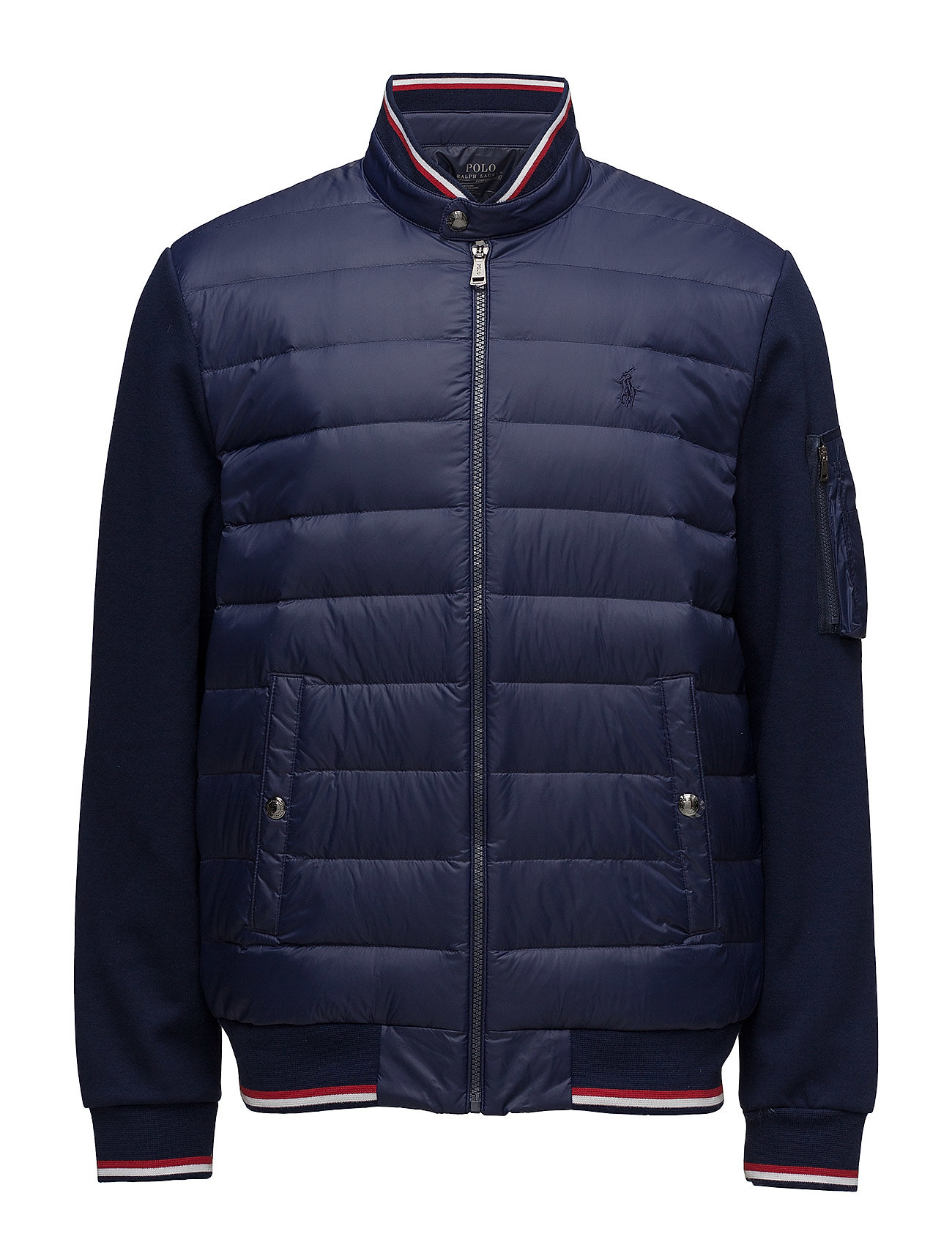 Double Down knit NavyPolo panel Jacketfrench Ralph Lauren wOPknX80