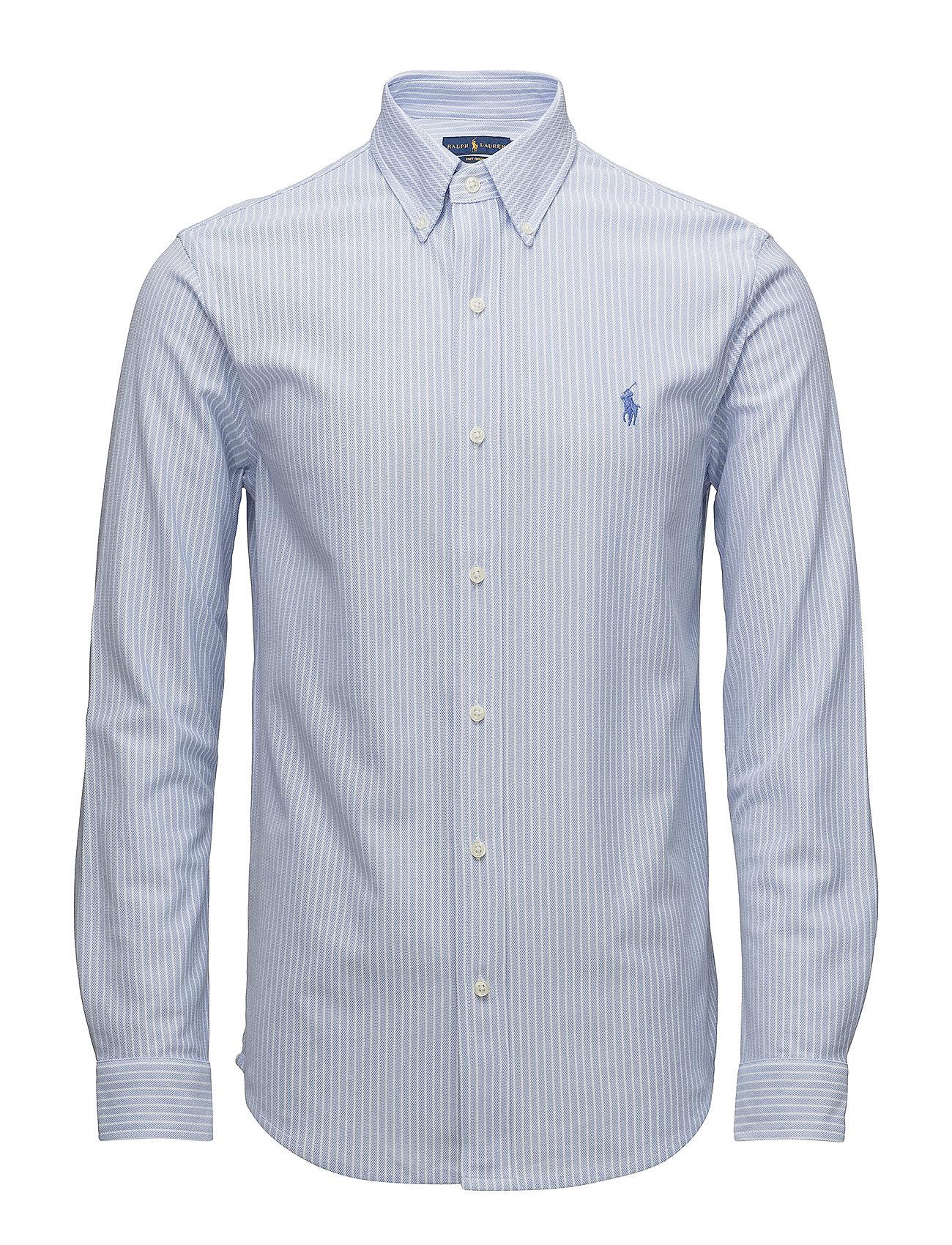 Polo Ralph Lauren LSFBBDM2-LONG SLEEVE-KNIT - DRESS SHIRT BLUE/