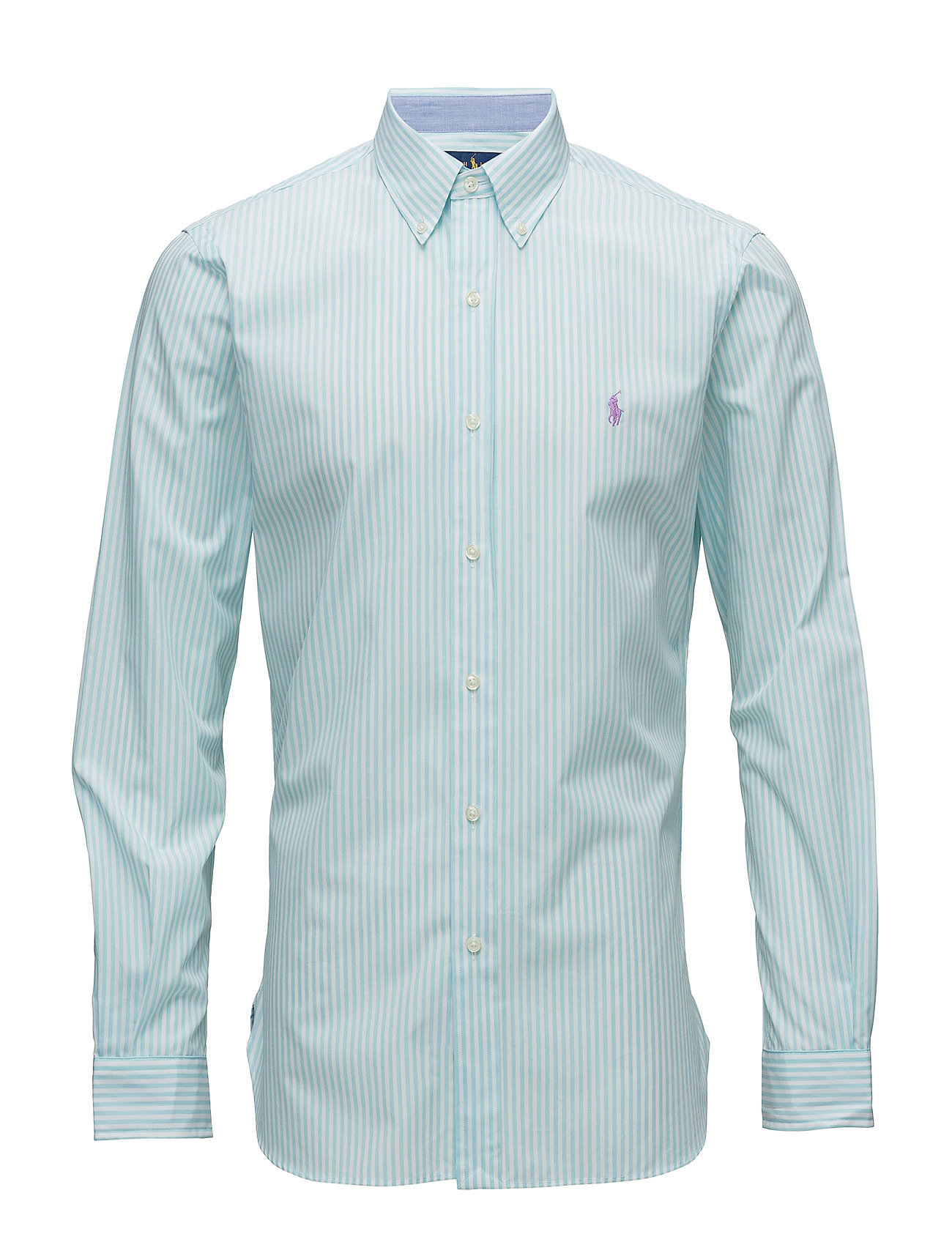 Slim Fit Cotton Shirt (2582a Light Turqu) (70.85 €) - Polo Ralph ... 8074ea8ef