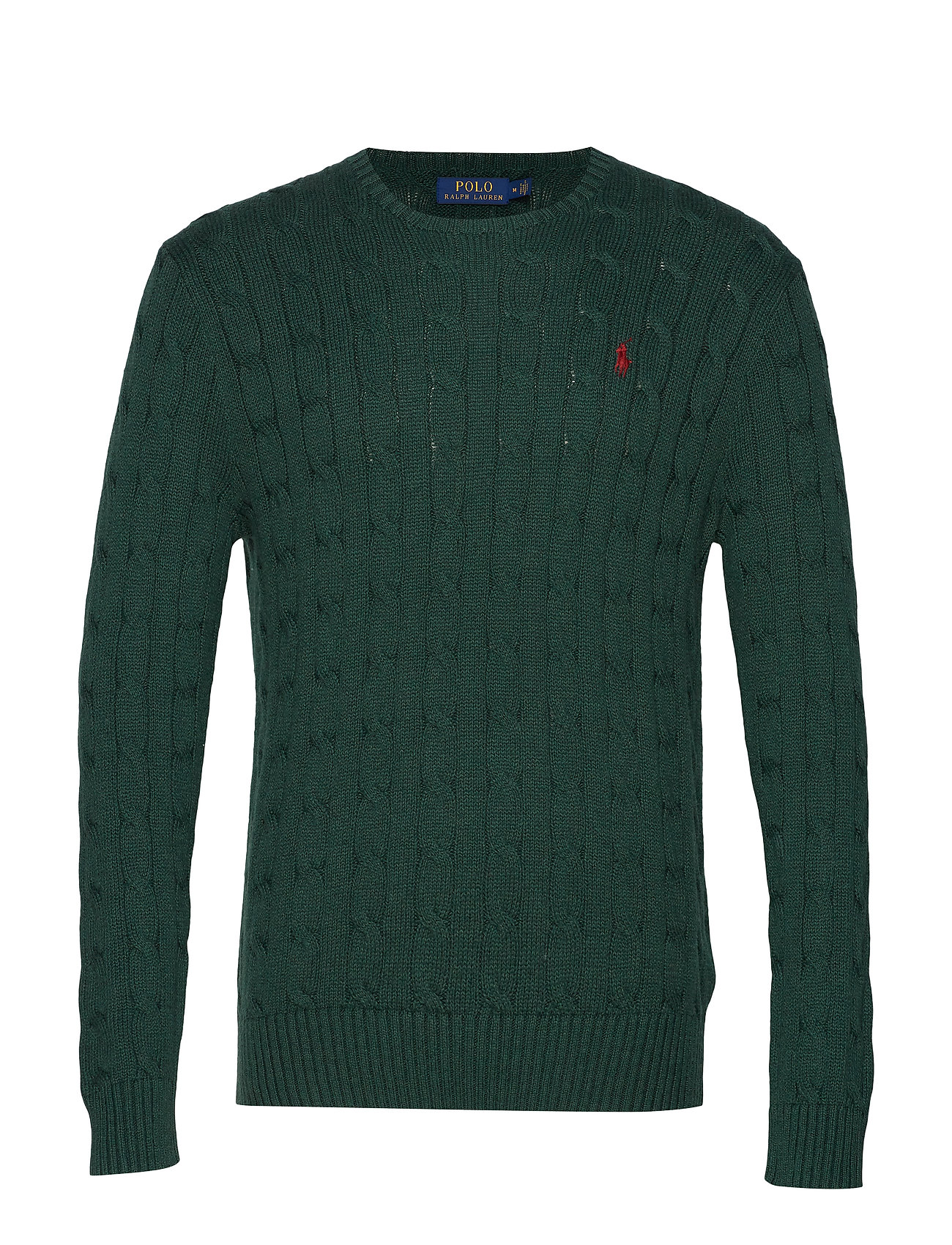 Polo Ralph Lauren Cable-Knit Cotton Sweater - SCOTCH PINE HEATH