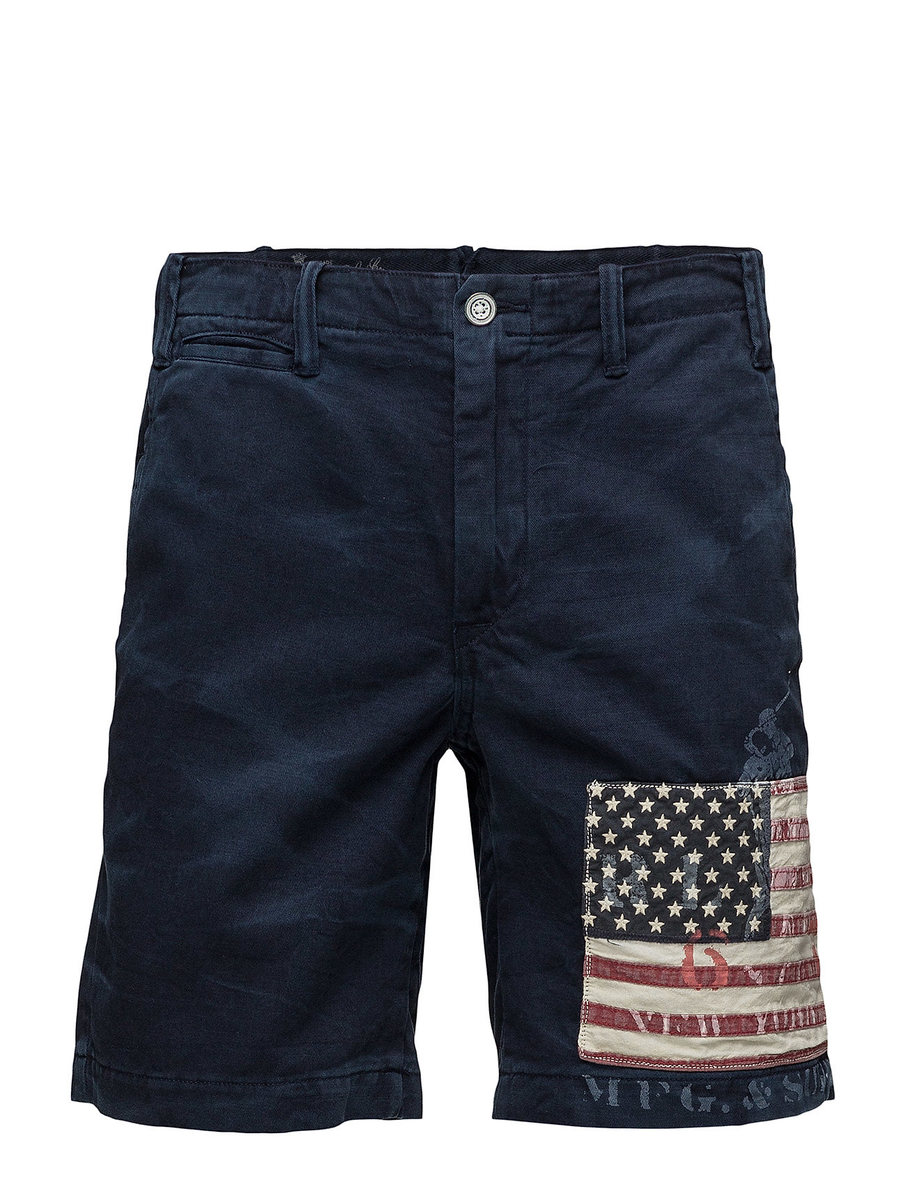 Polo Ralph Lauren STRAIGHT FIT MARITIME SHORT - AVIATOR NAVY W/ F