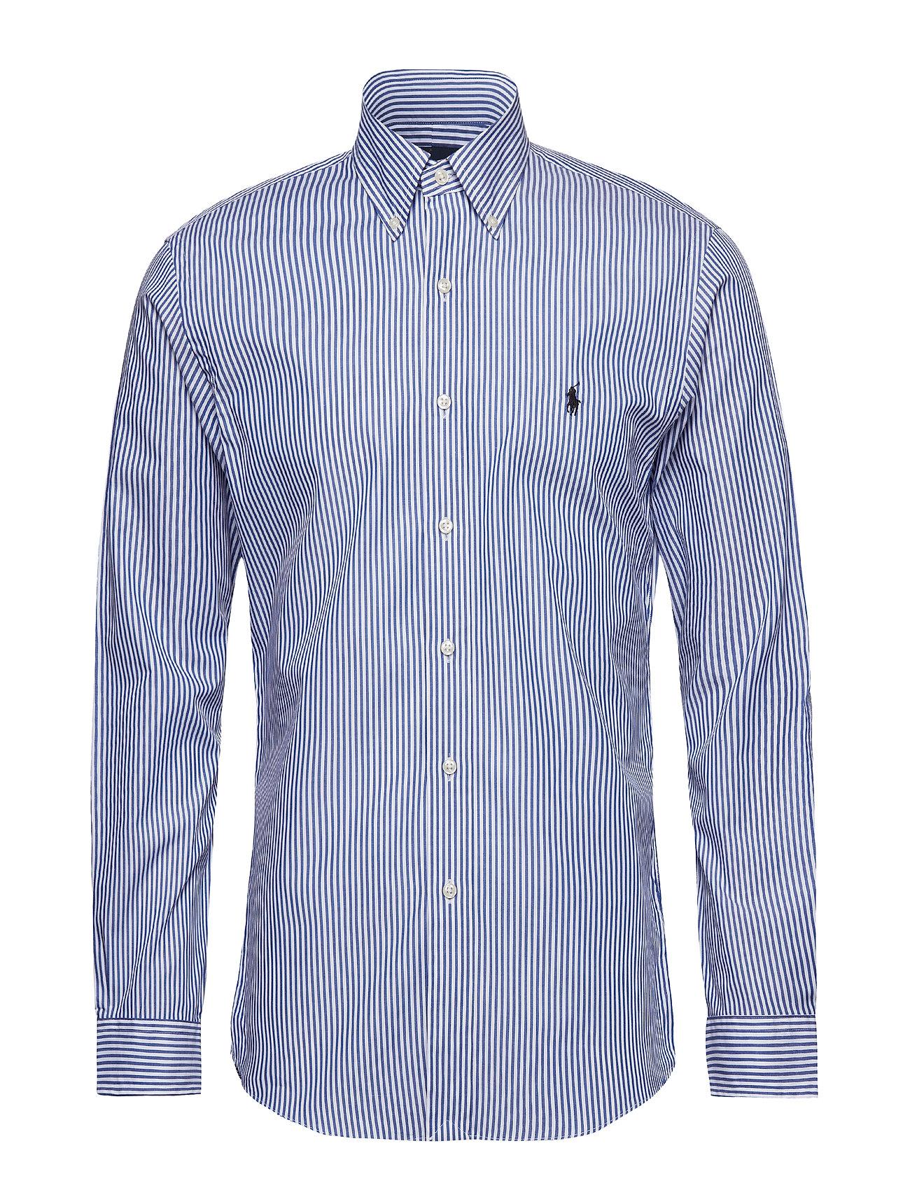 Polo Ralph Lauren Slim Fit Stretch Cotton Shirt - BLUE/WHITE BENGAL