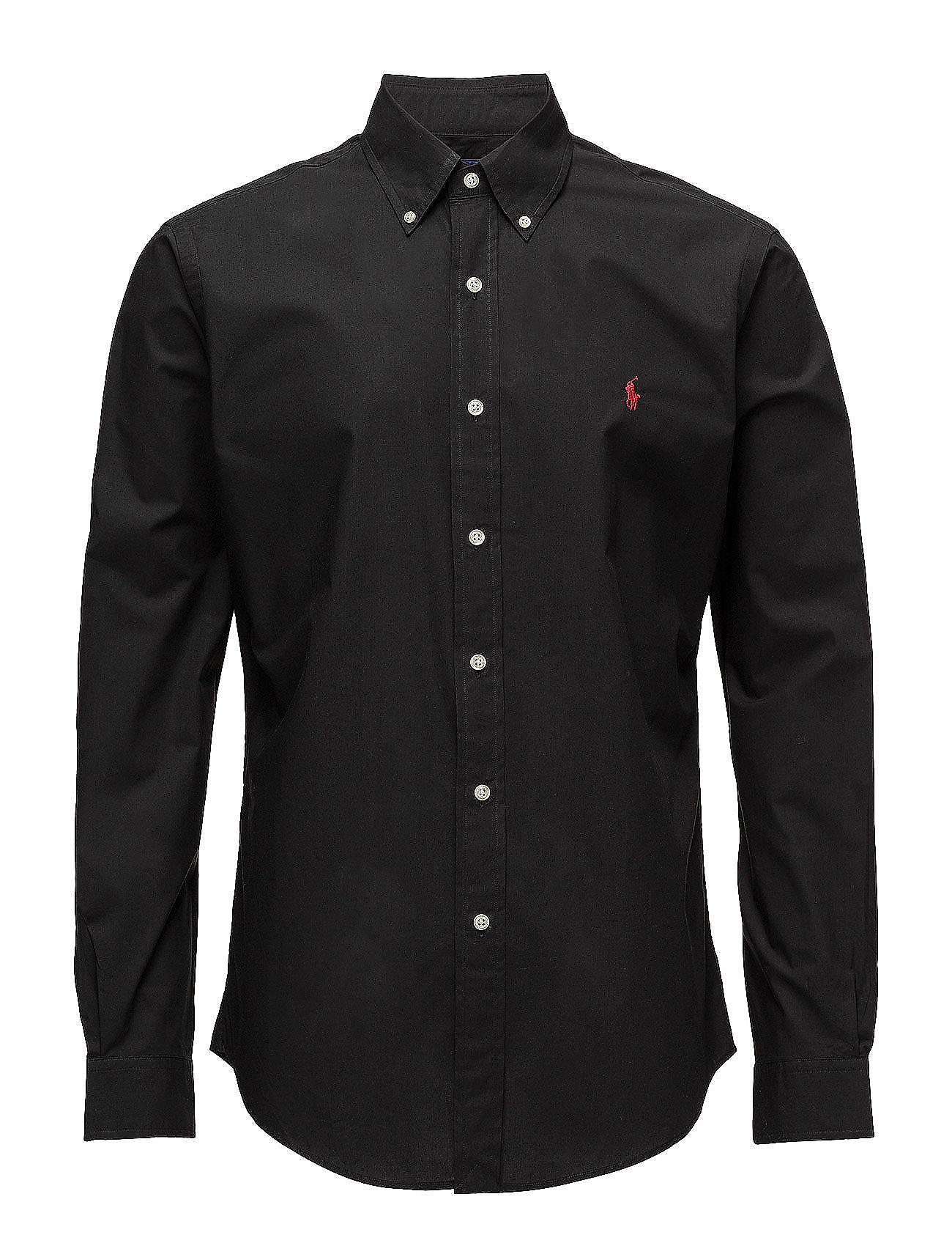 Polo Ralph Lauren Slim Fit Stretch Cotton Shirt - POLO BLACK