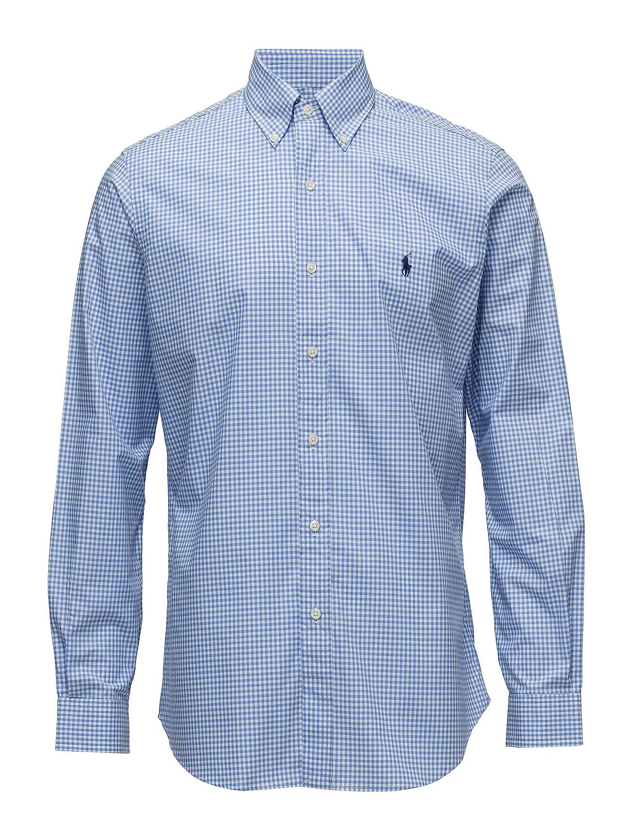 Polo Ralph Lauren BD PPC SPT-LONG SLEEVE-SPORT SHIRT - 2863 BLUE/WHITE C