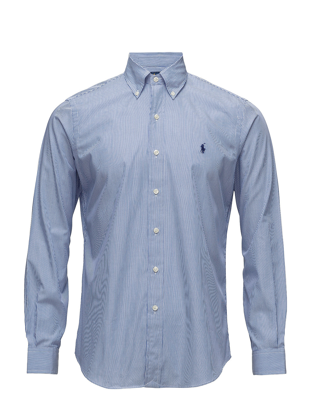 Polo Ralph Lauren BD PPC SPT-LONG SLEEVE-SPORT SHIRT - 2866 BLUE/WHITE H