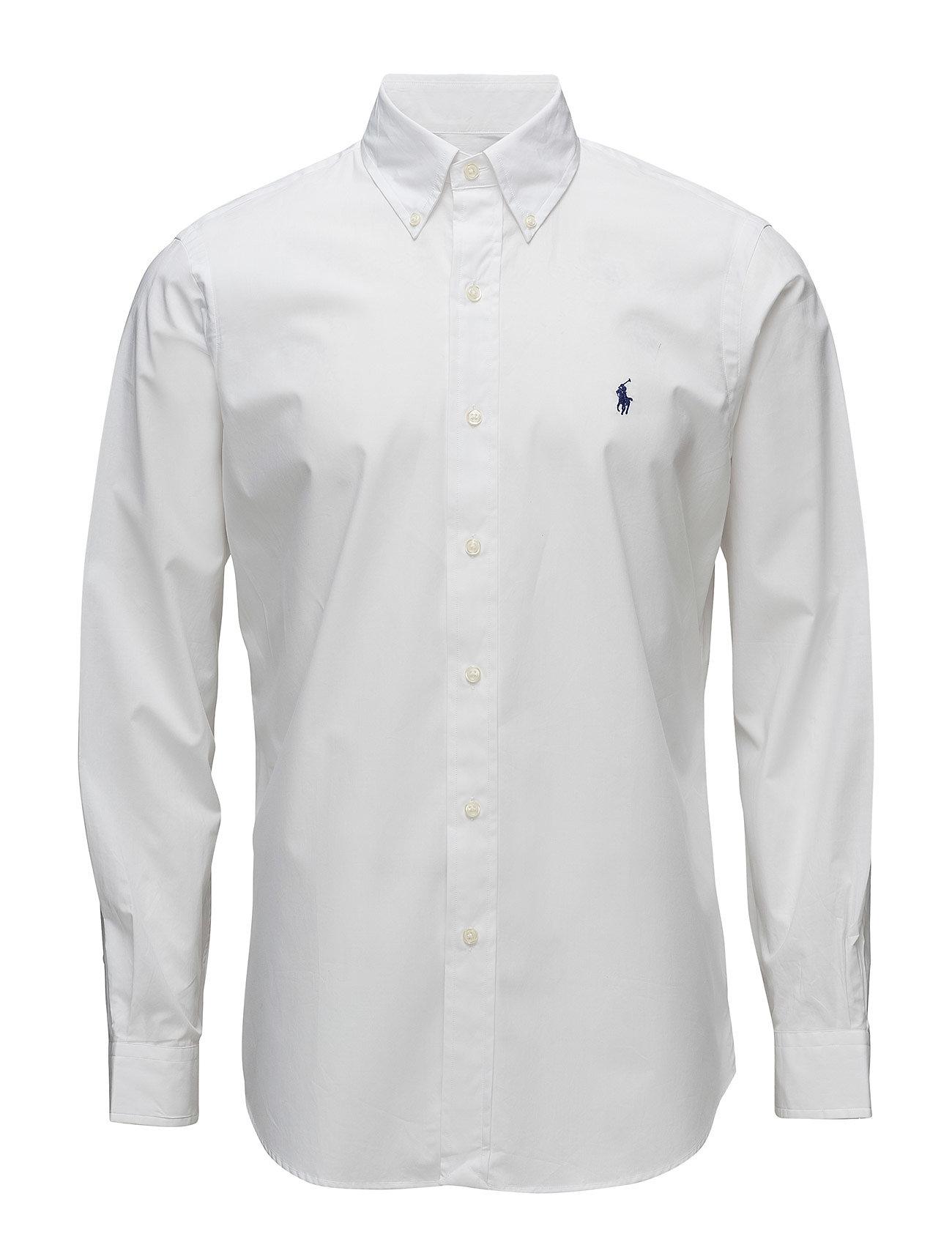 Polo Ralph Lauren BD PPC SPT-LONG SLEEVE-SPORT SHIRT - WHITE