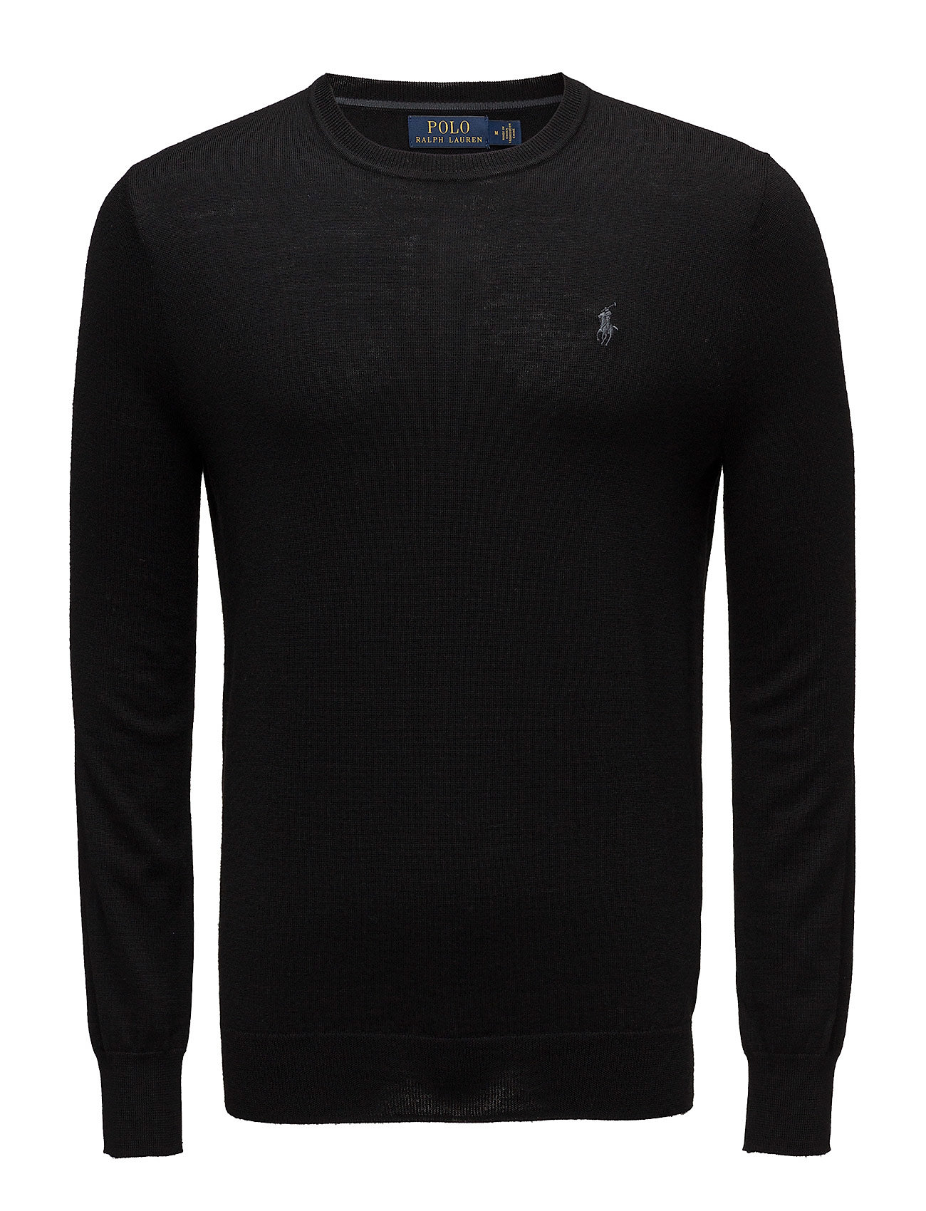 Polo Ralph Lauren LS SF CN PP-LONG SLEEVE-SWEATER - POLO BLACK