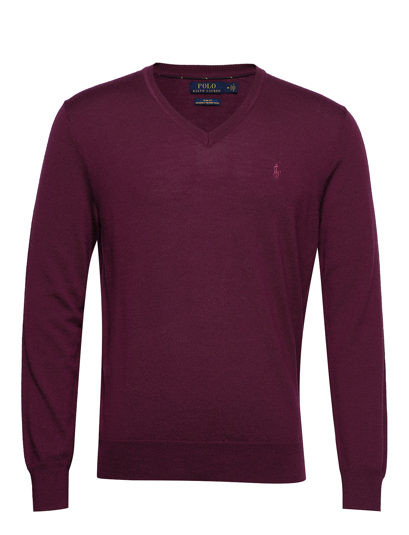 Polo Ralph Lauren LS SF VN PP-LONG SLEEVE-SWEATER - CLASSIC BURGUNDY