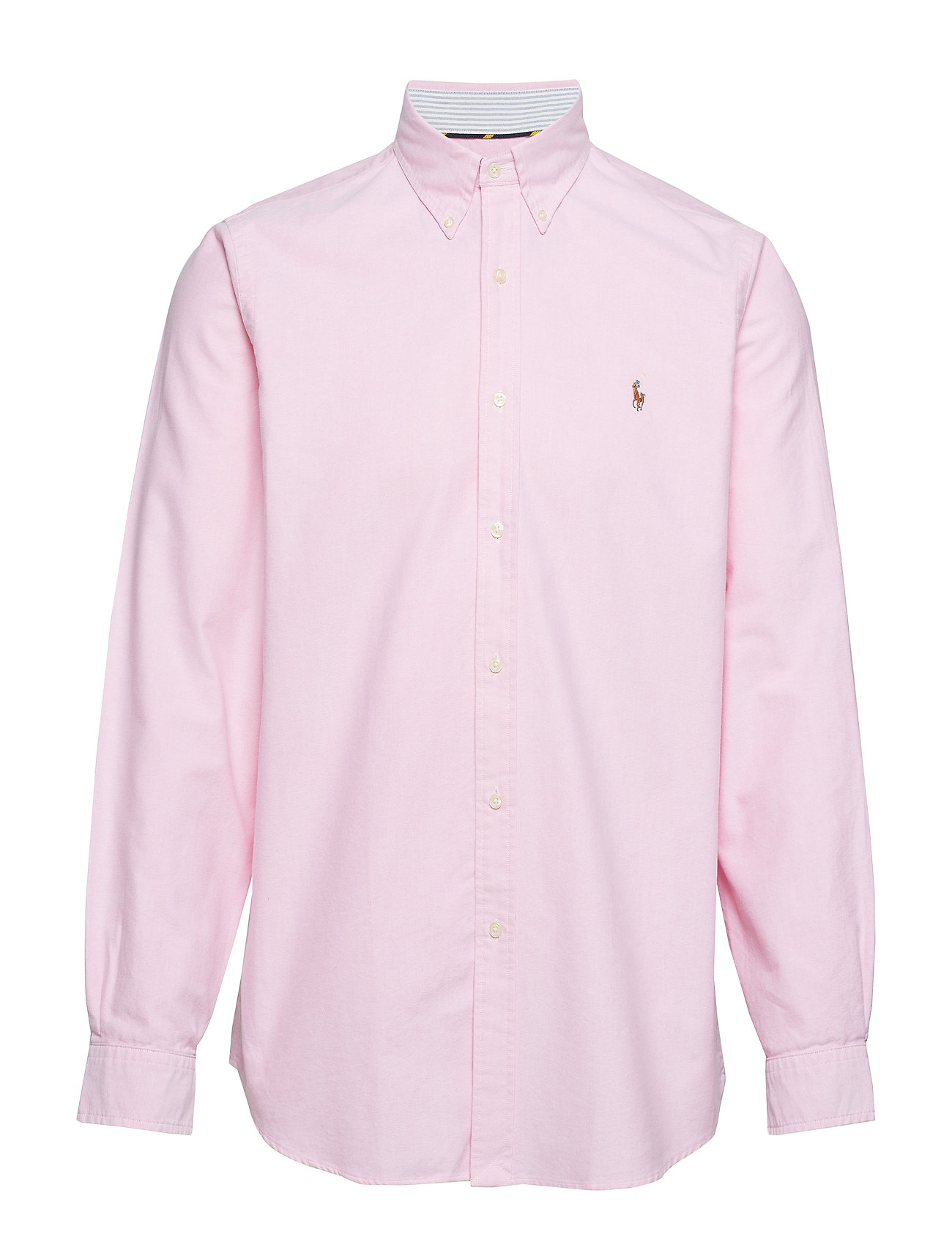 Long Sleeve Shirt (New Rose) (£51) - Polo Ralph Lauren - Shirts ... 0b116403f0b