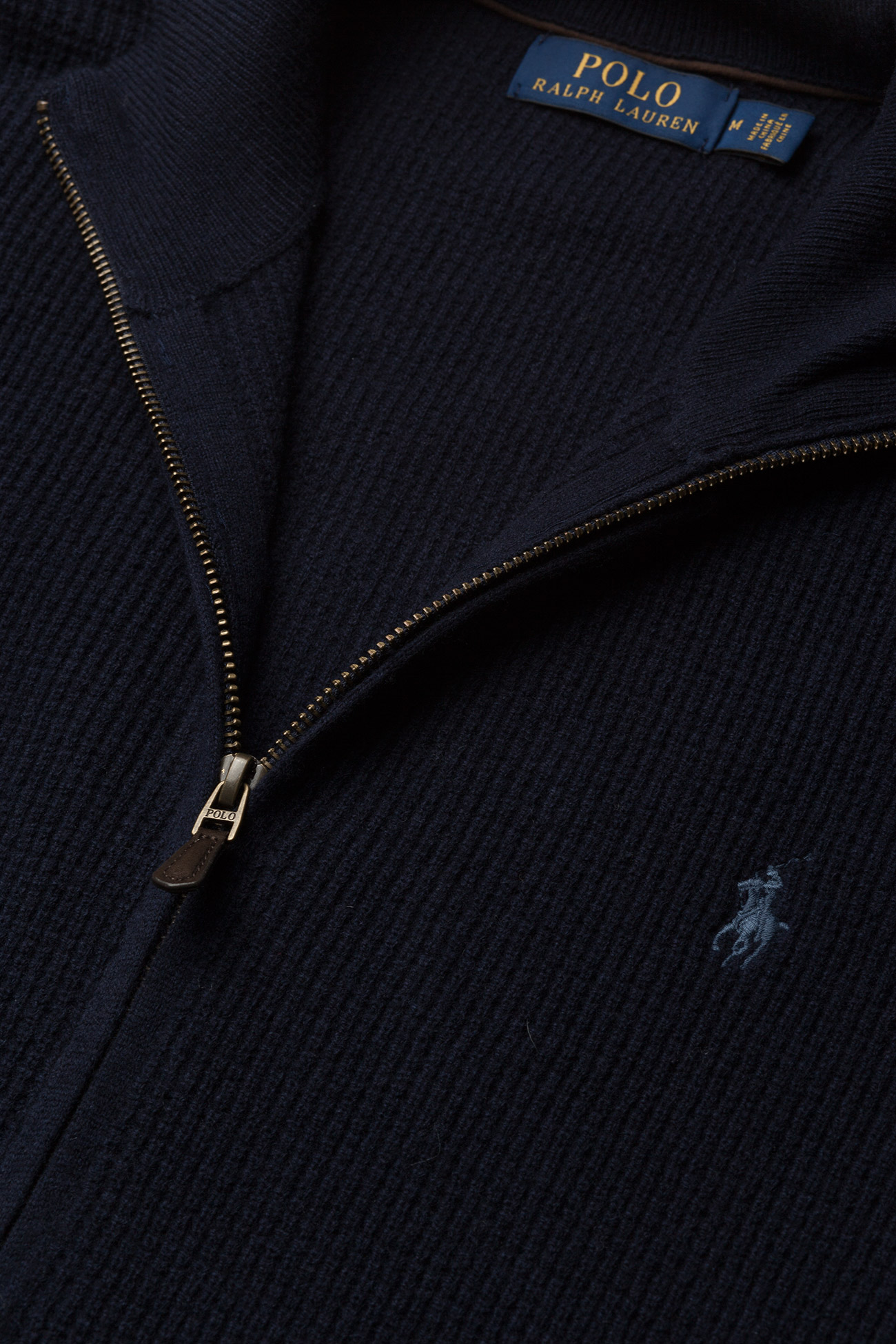 zip Wool Ralph NavyPolo Merino Sweaterhunter Lauren Full uTKcFJl31