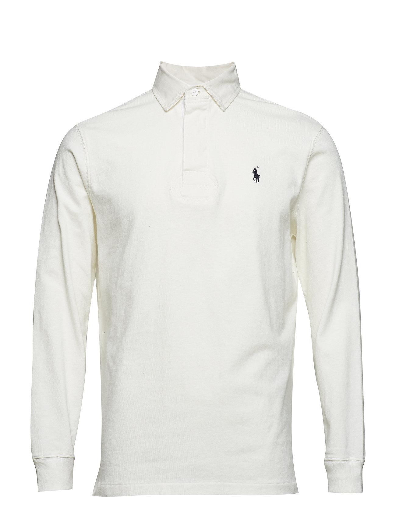 b46e95881b1e The Iconic Rugby Shirt (Deckwash White) (£81.25) - Polo Ralph Lauren ...
