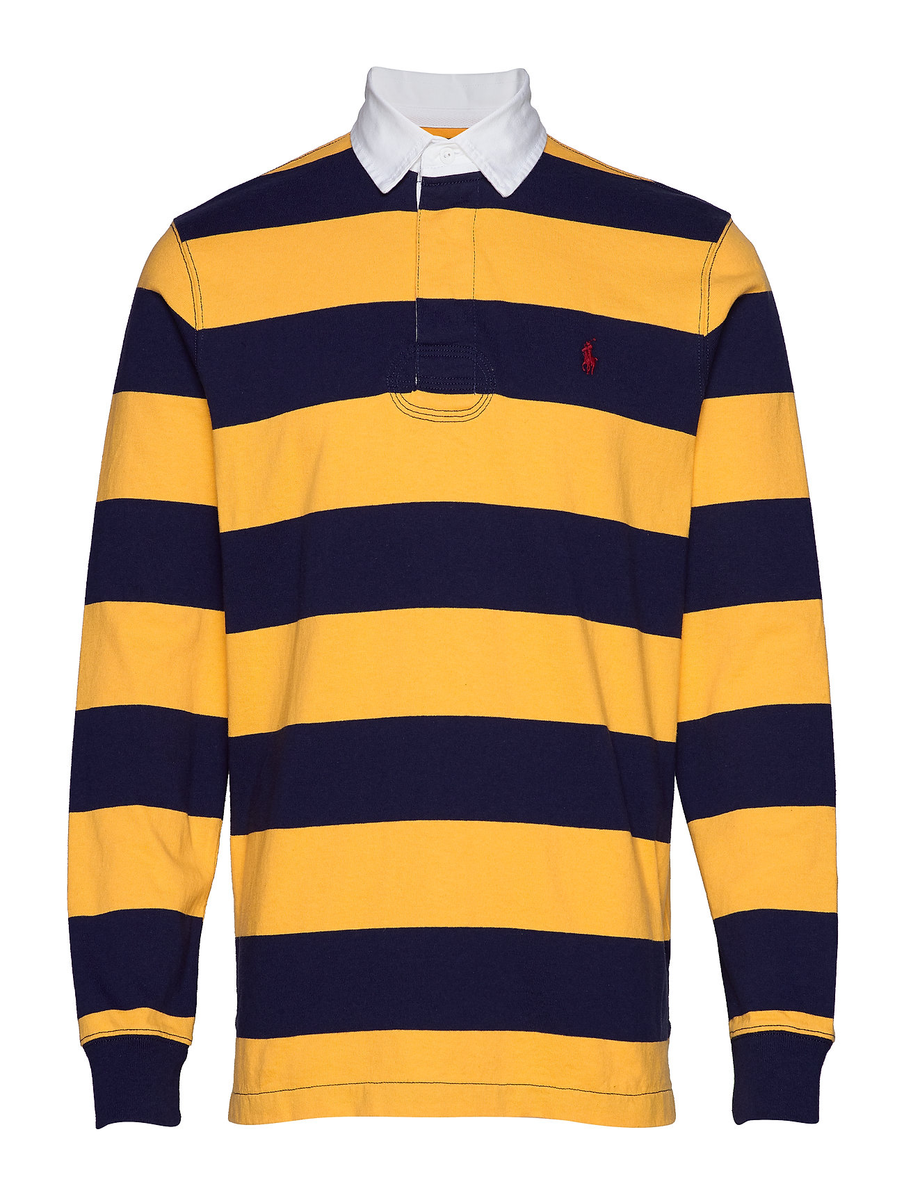 Polo Ralph Lauren The Iconic Rugby Shirt - FRENCH NAVY/GOLD