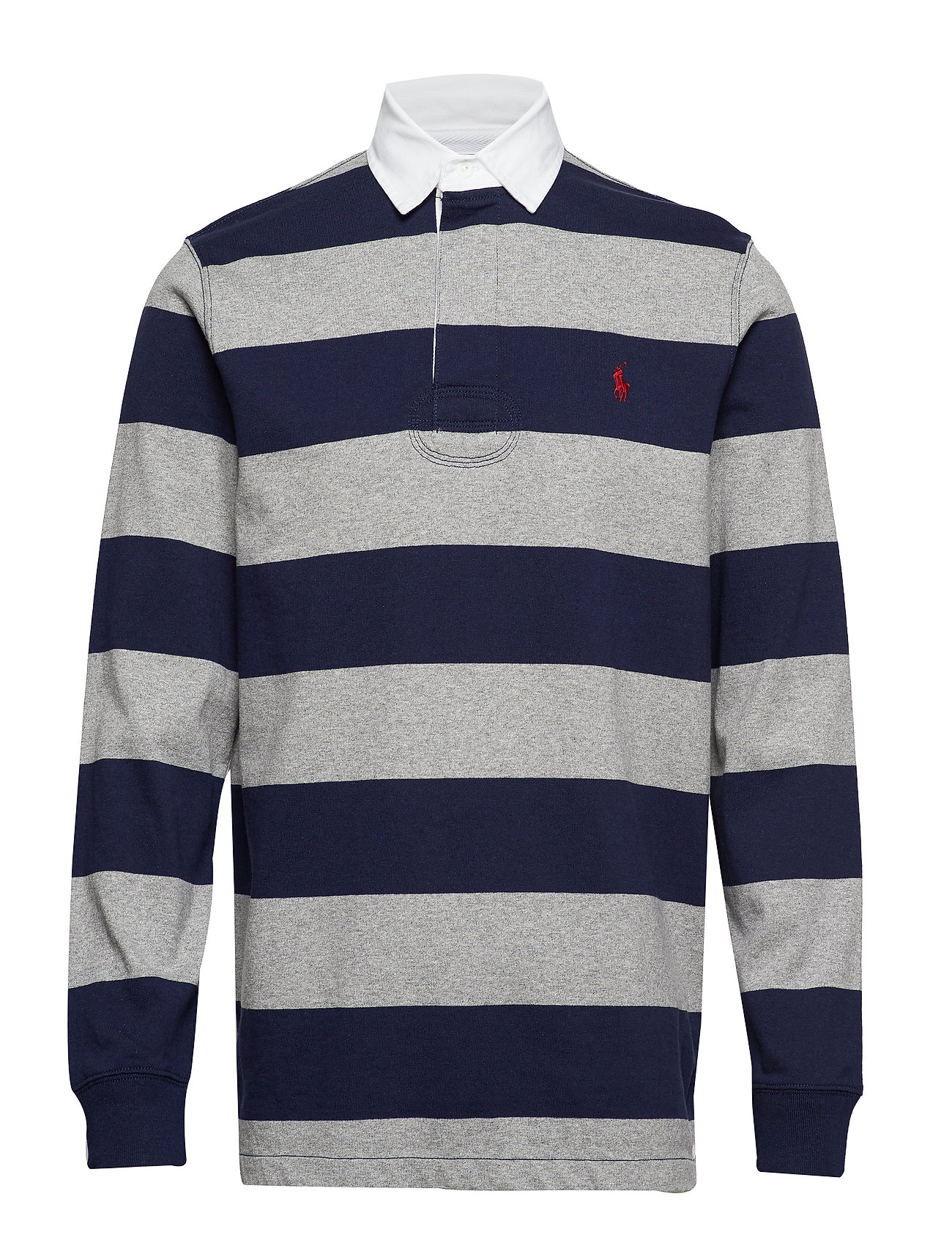Polo Ralph Lauren The Iconic Rugby Shirt - LEAGUE HEATHER/FR