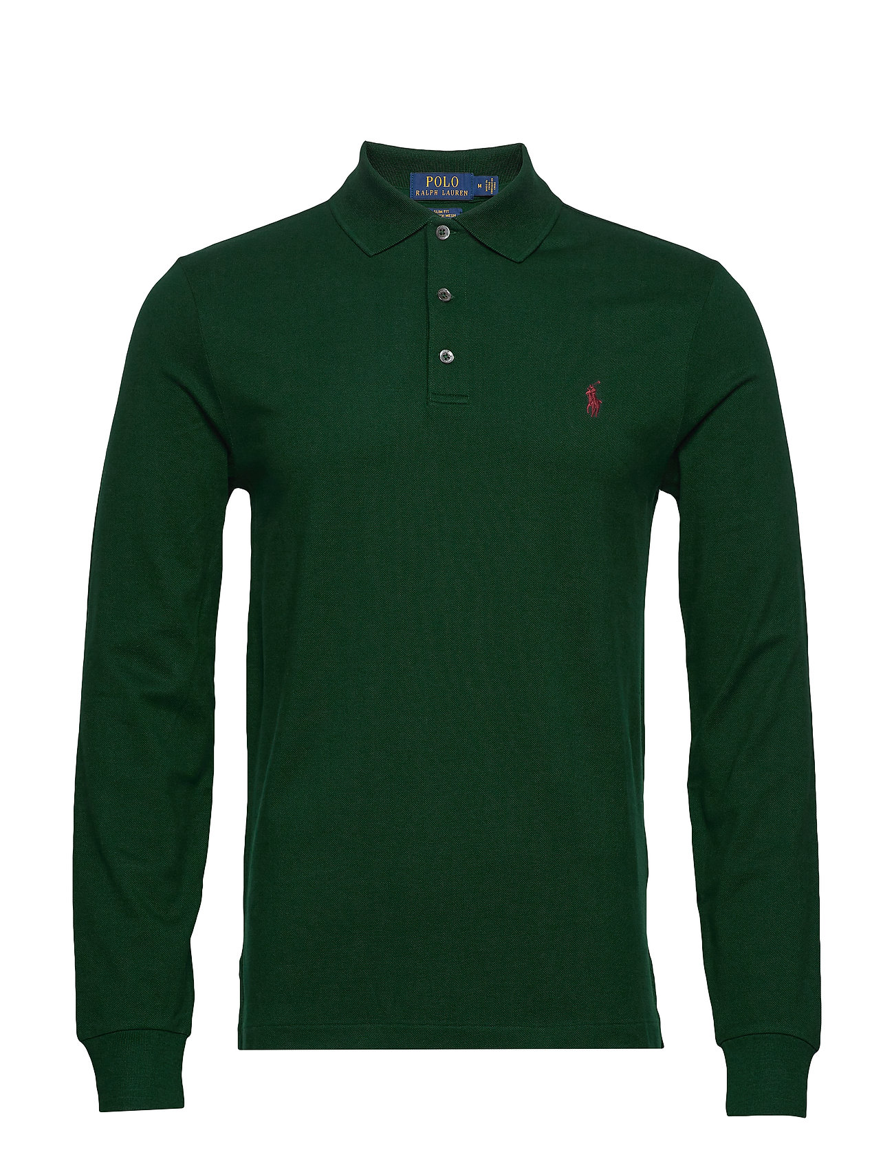 Polo Ralph Lauren LSKCSLMM4-LONG SLEEVE-KNIT - COLLEGE GREEN