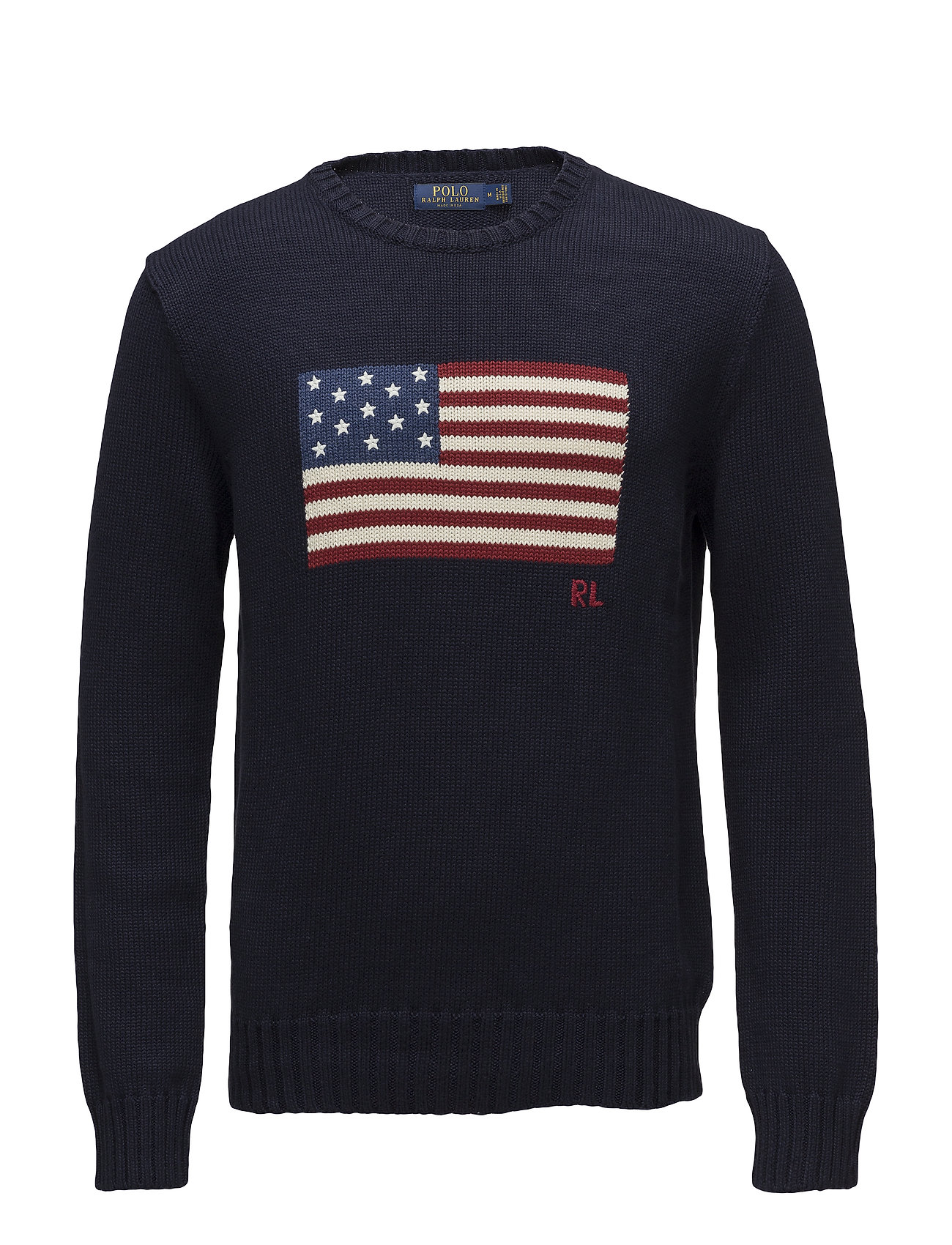 Polo Ralph Lauren The Iconic Flag Sweater - NAVY
