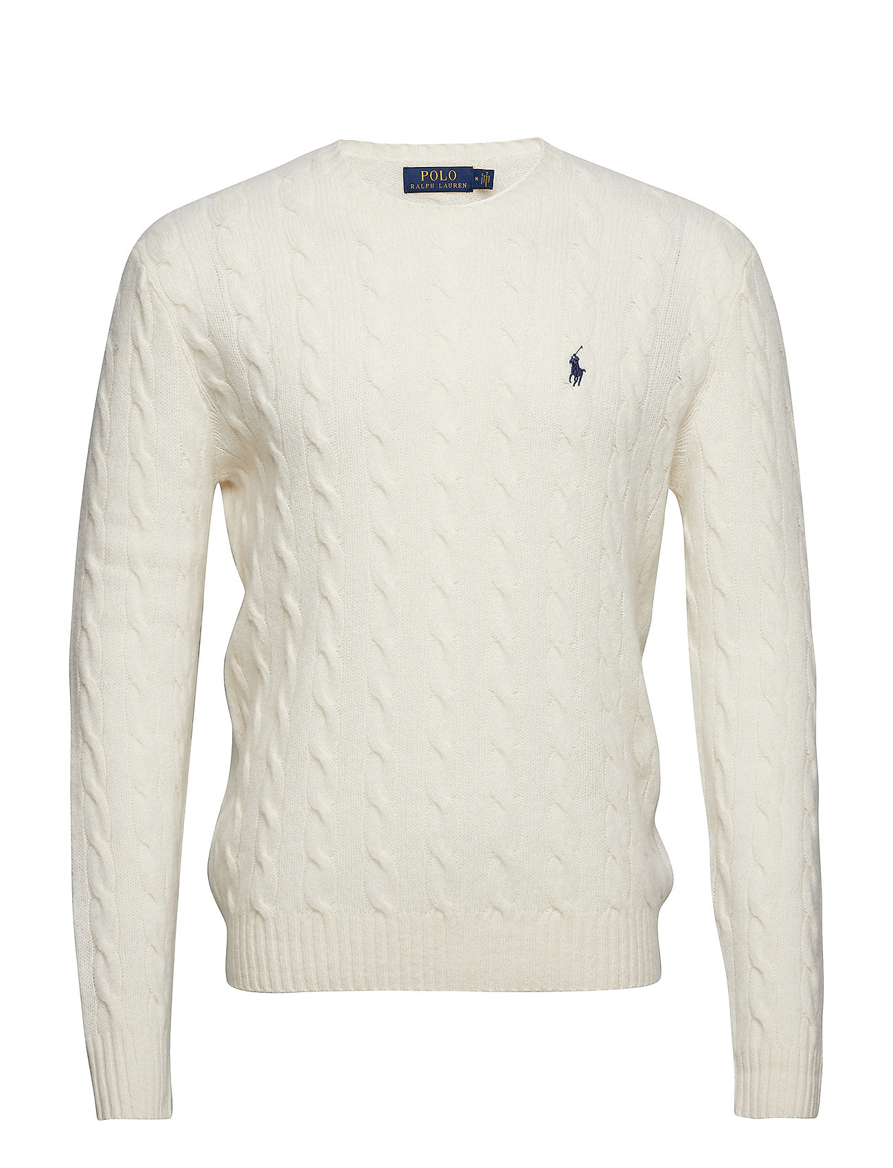 Polo Ralph Lauren LS CABLE CN-LONG SLEEVE-SWEATER - ANDOVER CREAM
