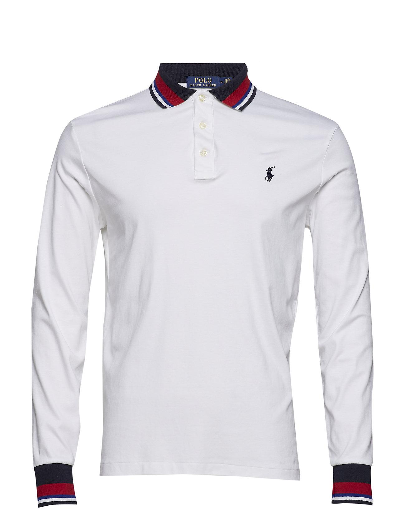 d6bcfe266 Pima Polo-lsl-knt (White) (77.97 €) - Polo Ralph Lauren -