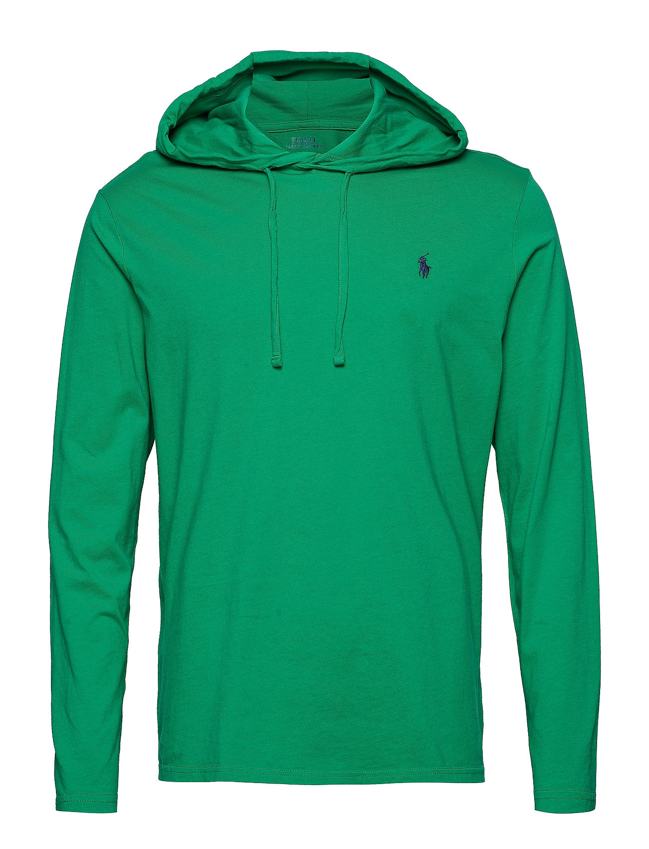 f1bfed3f7 Cotton Jersey Hooded T-shirt (Stem) (£34.50) - Polo Ralph Lauren ...