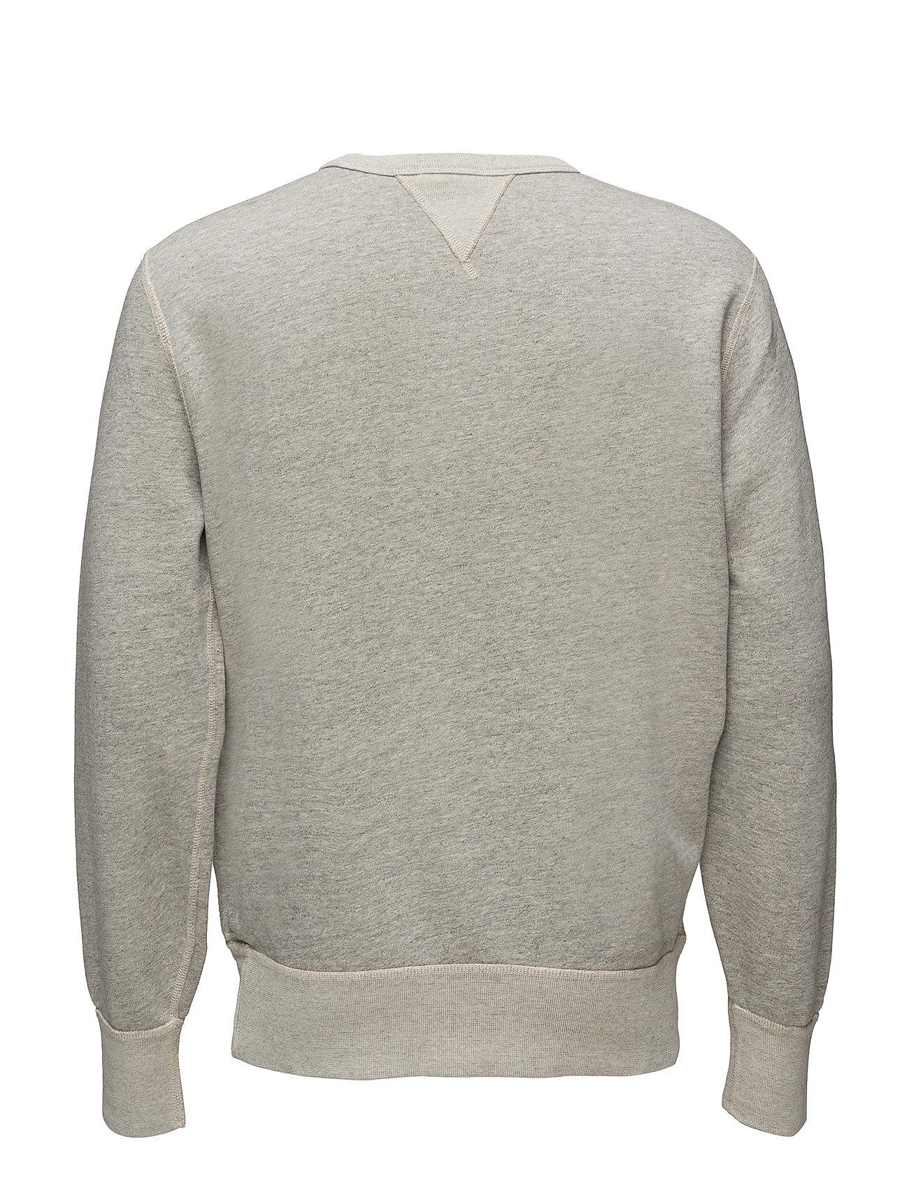 Cotton HePolo Ralph Lauren Sweatshirtstadium Pepper fleece blend SzpVqUM