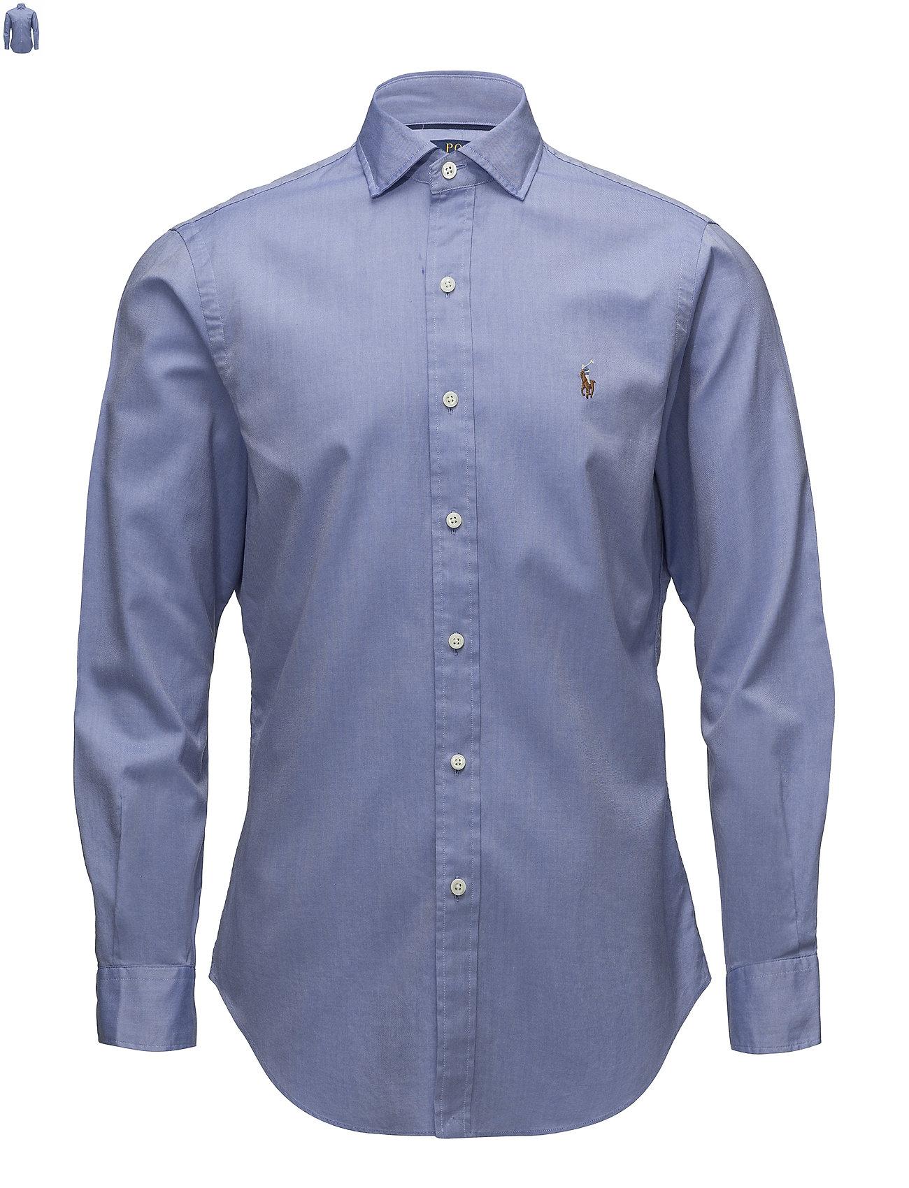 24038a1e5d22 Slim Fit Oxford Shirt (2558a Blue white) (£61.75) - Polo Ralph ...