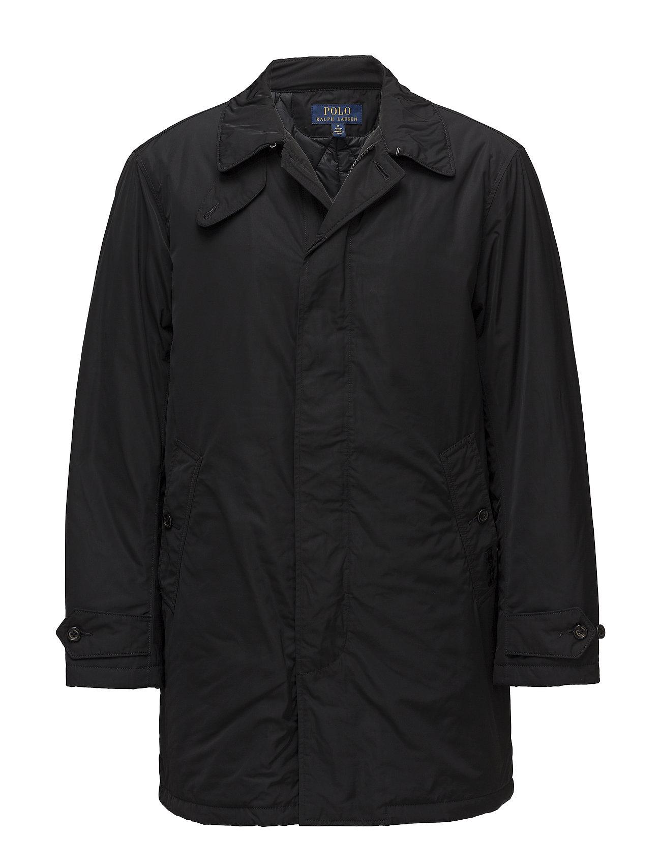 Polo Ralph Lauren Water-Repellent Coat - POLO BLACK