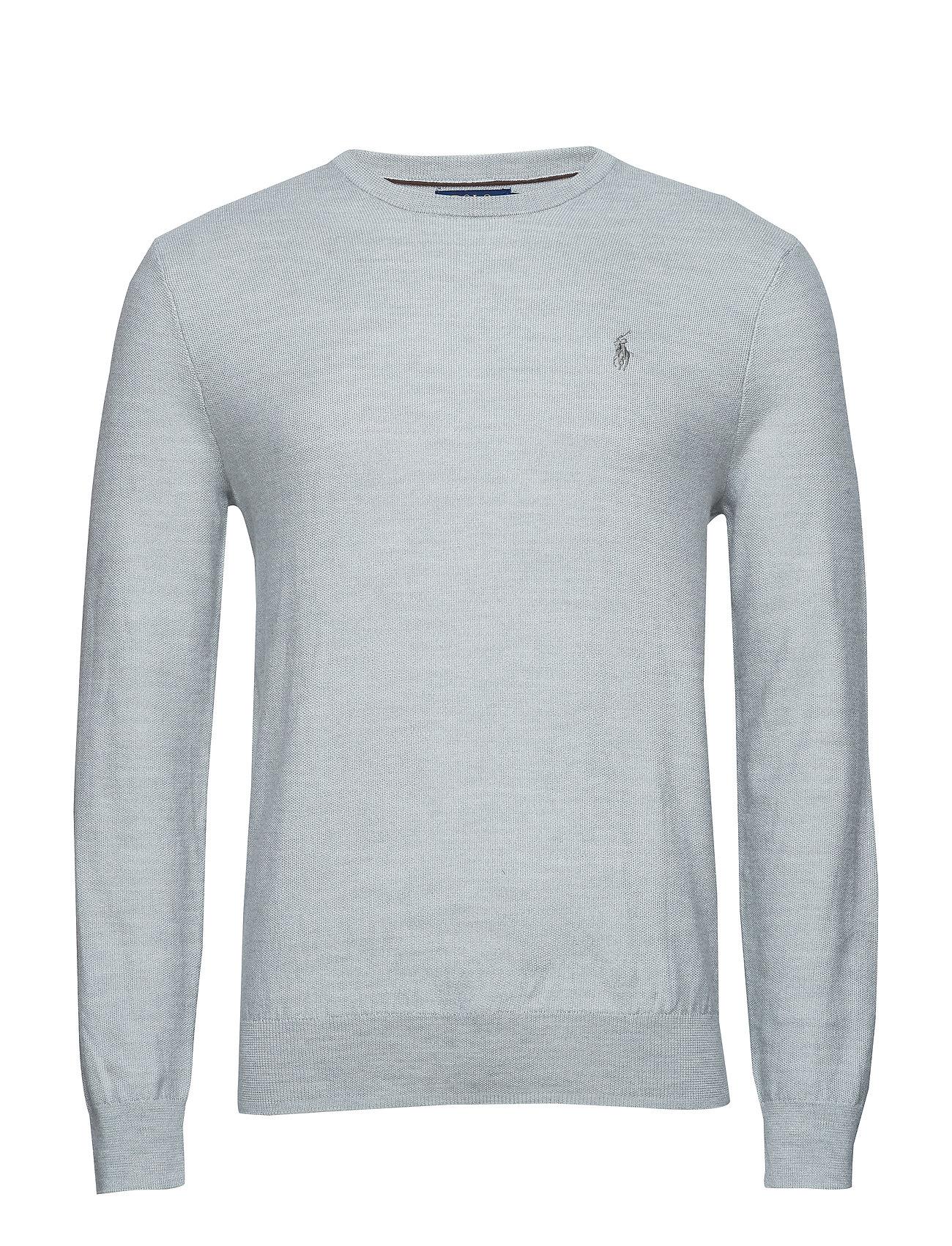 8b28066be Merino-silk-cashmere Sweater (Cool Grey Heather) (£129) - Polo Ralph ...