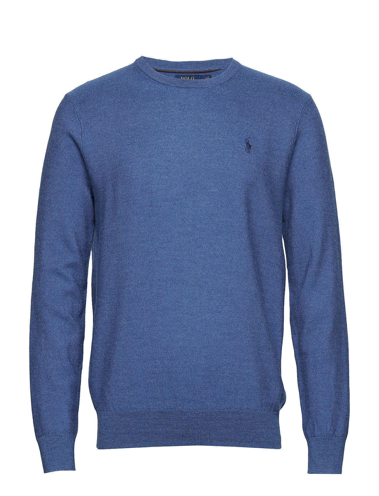 Polo Ralph Lauren Merino-Silk-Cashmere Sweater - FOG BLUE HEATHER