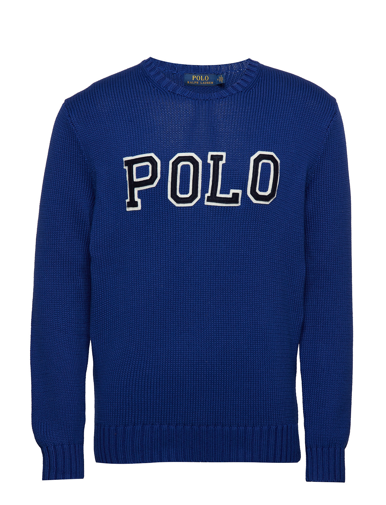 Polo Ralph Lauren Cotton Crewneck Sweater - HERITAGE ROYAL/NA