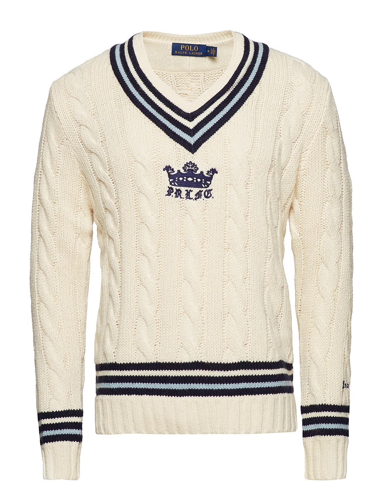 Polo Ralph Lauren Cotton Blend Cricket Sweater Ögrönlar