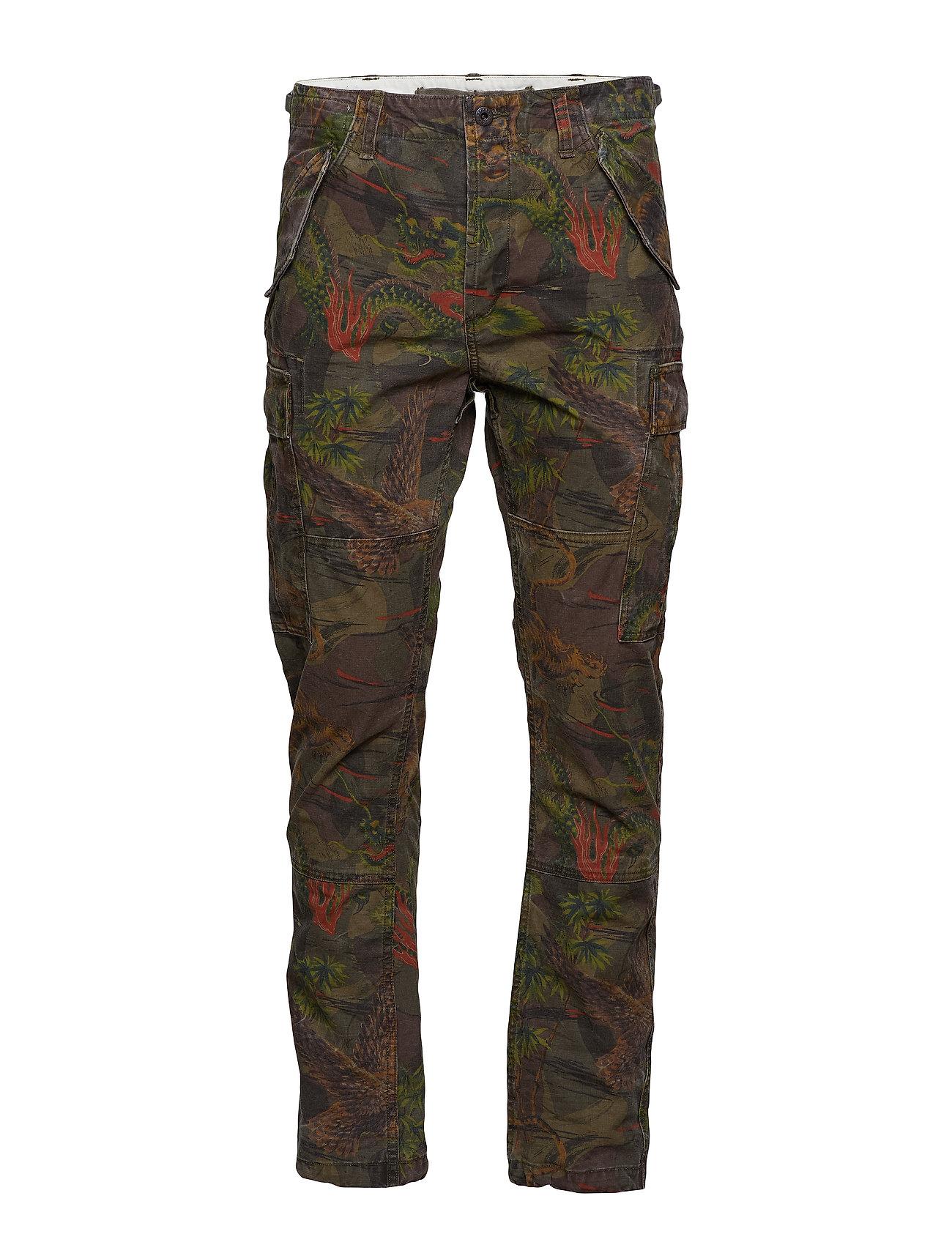 Polo Ralph Lauren Straight Taperöd Cargo Pant Byxor