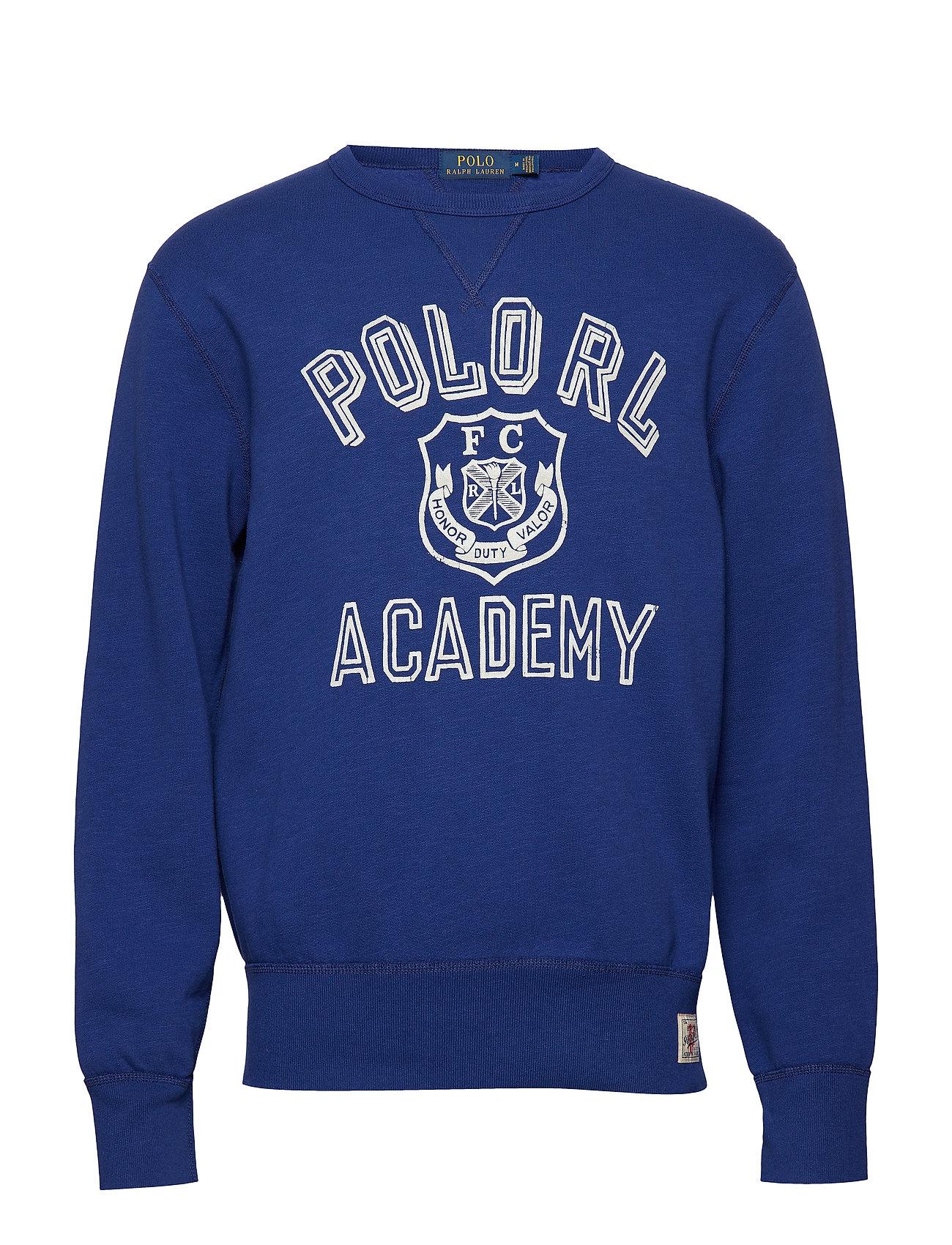 Polo Ralph Lauren Cotton-Blend-Fleece Sweatshirt - YALE BLUE