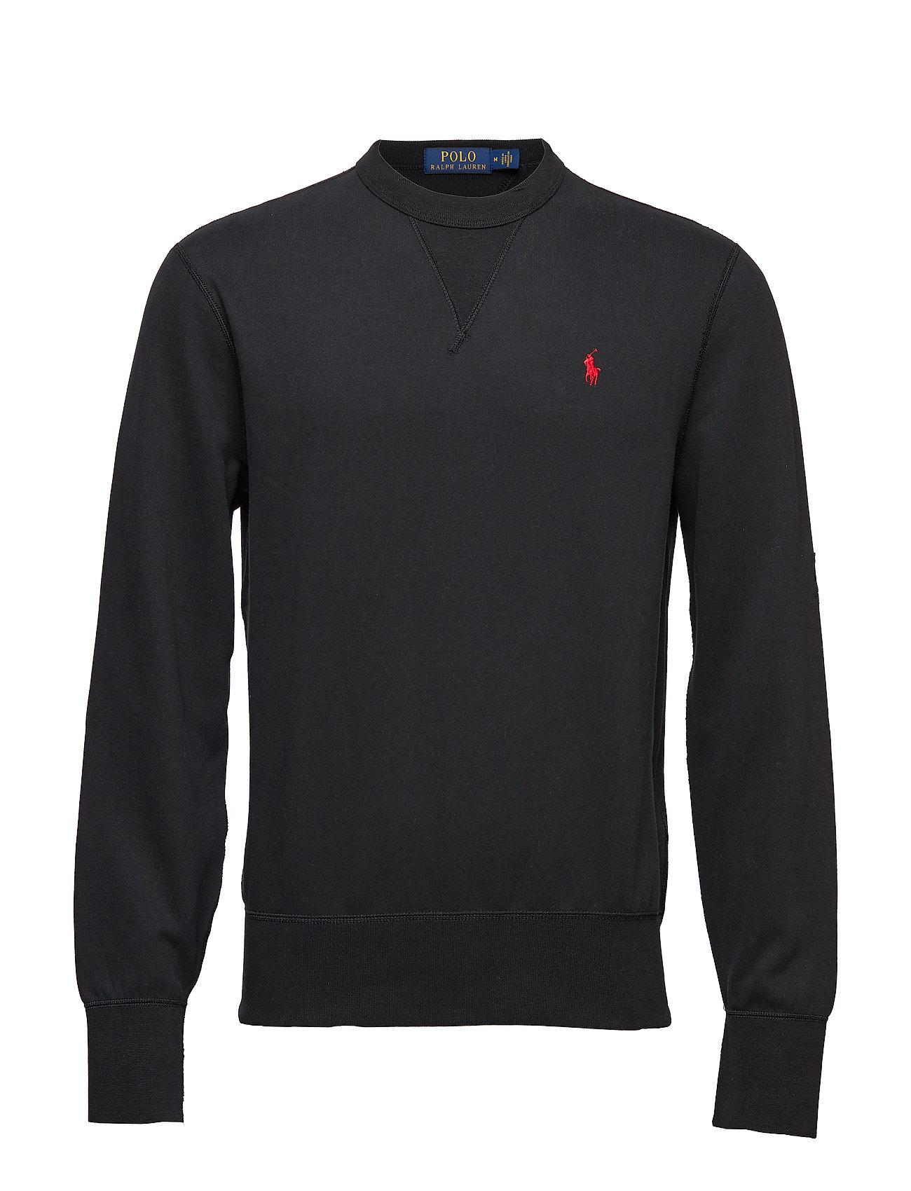Ralph BlackPolo Sweatshirtpolo Lauren Cotton blend fleece P8knOX0w