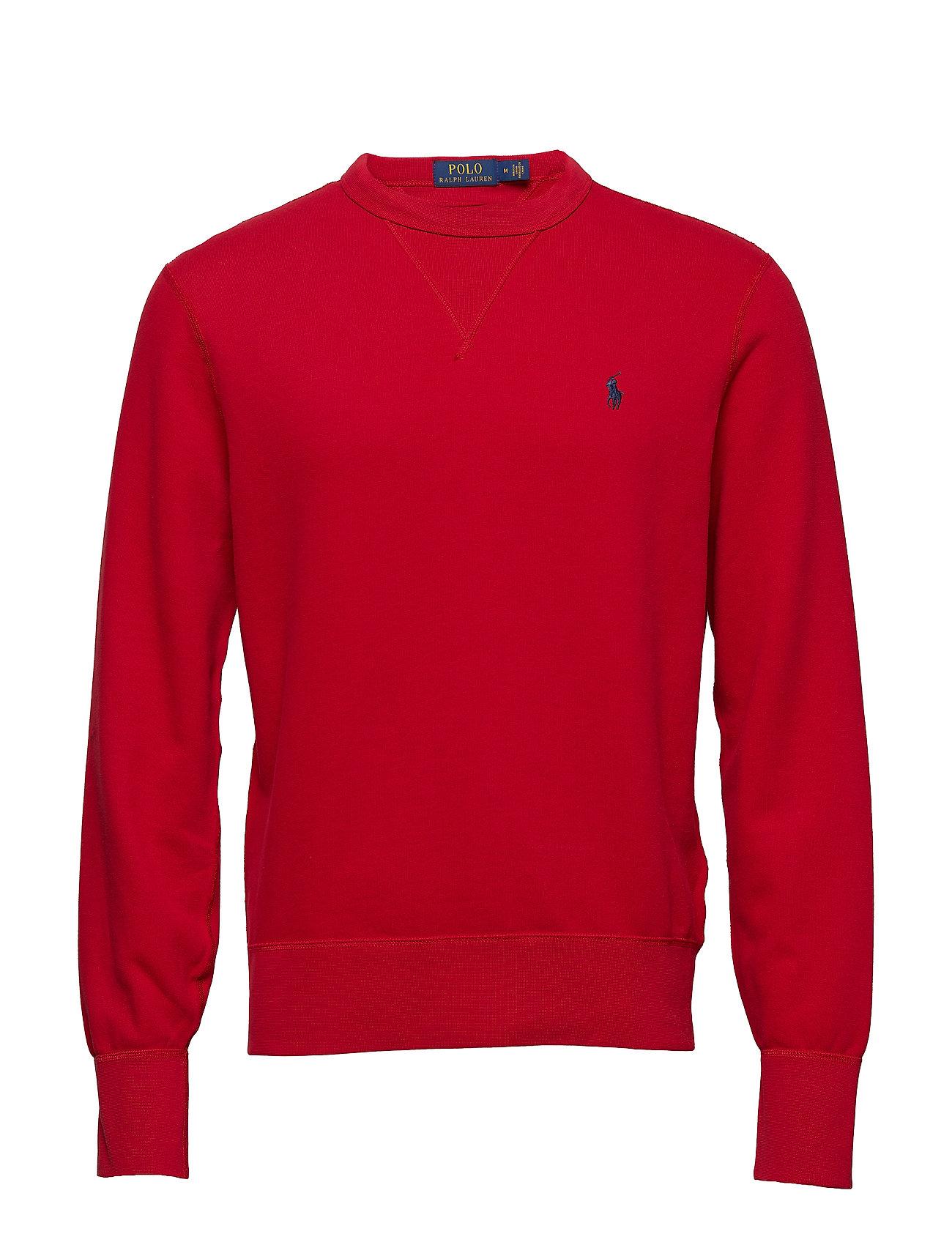 blend Lauren RedPolo fleece Sweatshirtralph Ralph Cotton l1JcTKF