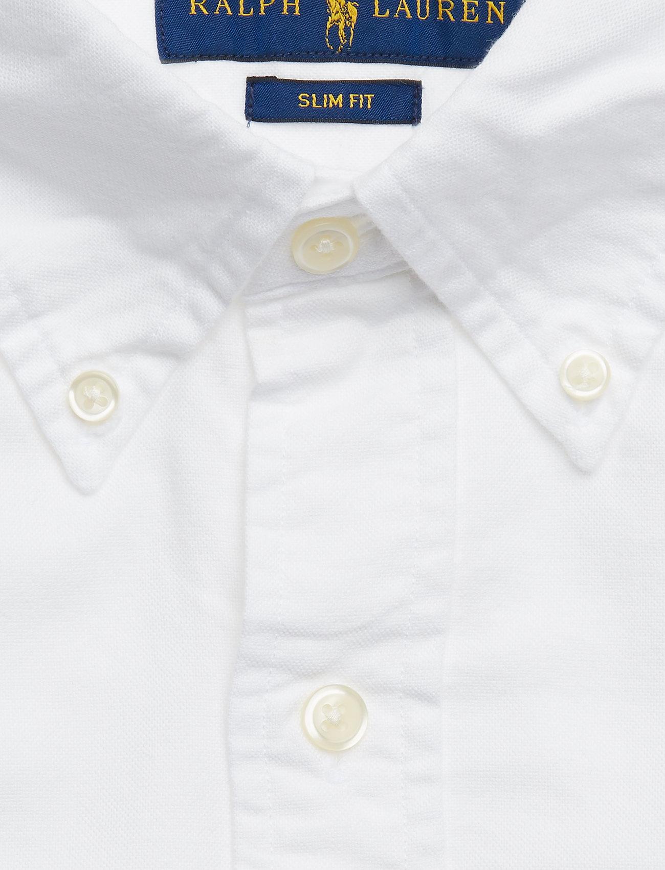 Slim Fit Oxford Shirt (White) (1195 kr) - Polo Ralph Lauren