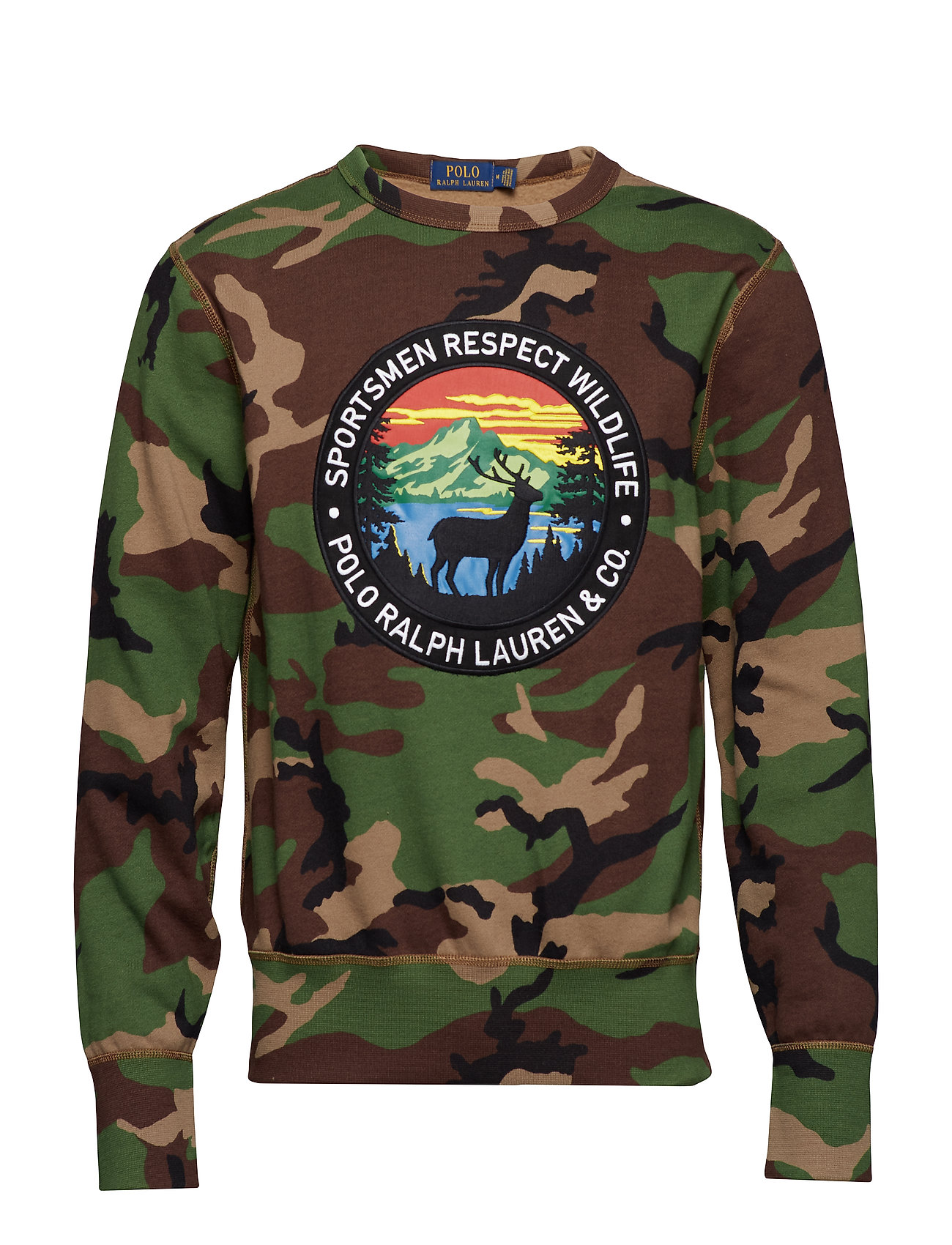 Polo Ralph Lauren Camo Cotton-Blend Sweatshirt
