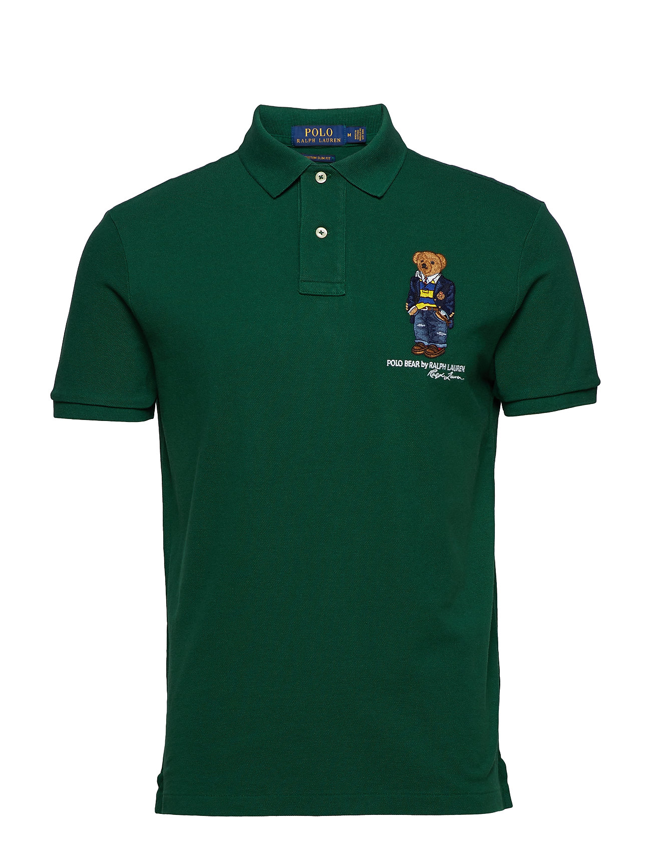 Polo Ralph Lauren Custom Slim Fit Bear Mesh Polo