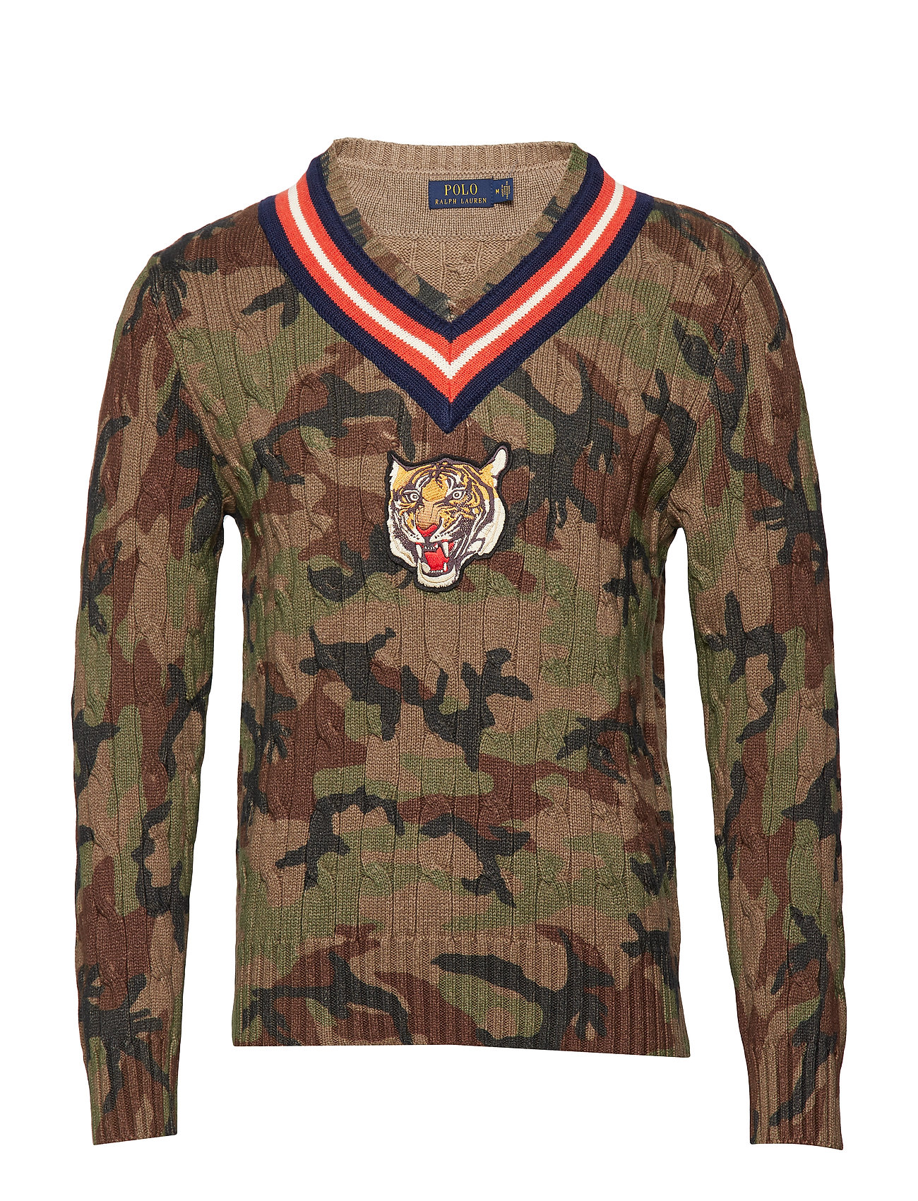 Polo Ralph Lauren LS CRICKETVN-LONG SLEEVE-SWEATER - CAMO MULTI