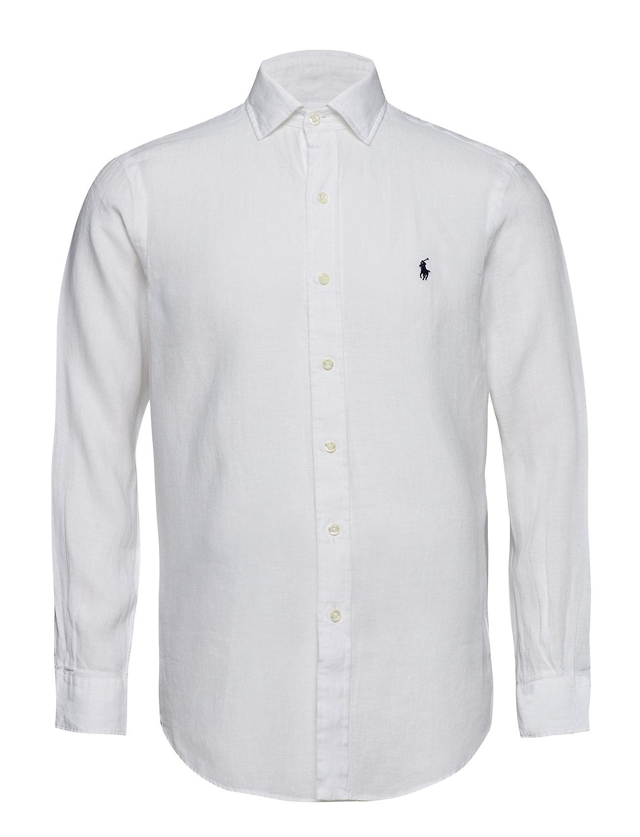 Polo Ralph Lauren SPR EST PPC-LONG SLEEVE-SPORT SHIRT - WHITE