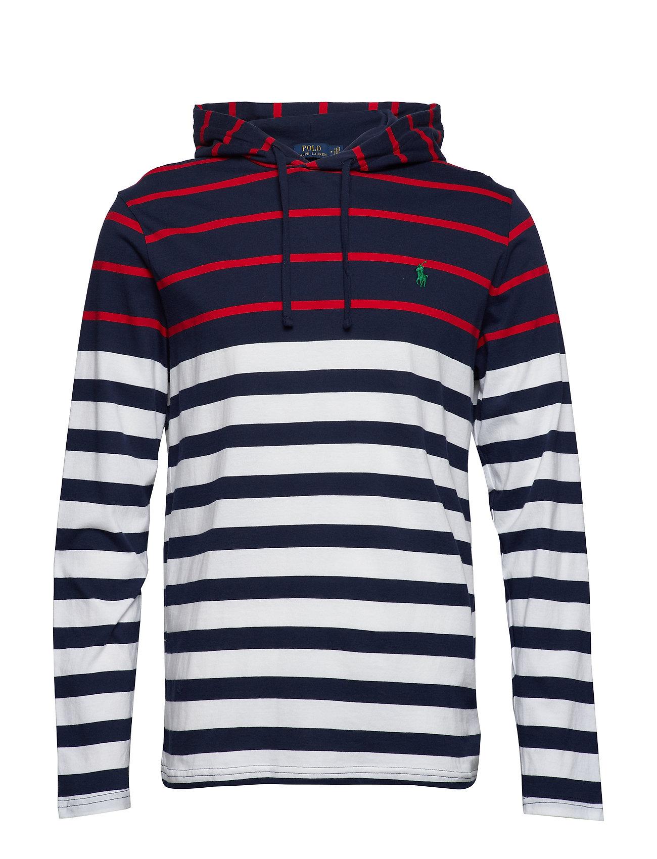 Polo Ralph Lauren Striped Cotton Hooded Tee